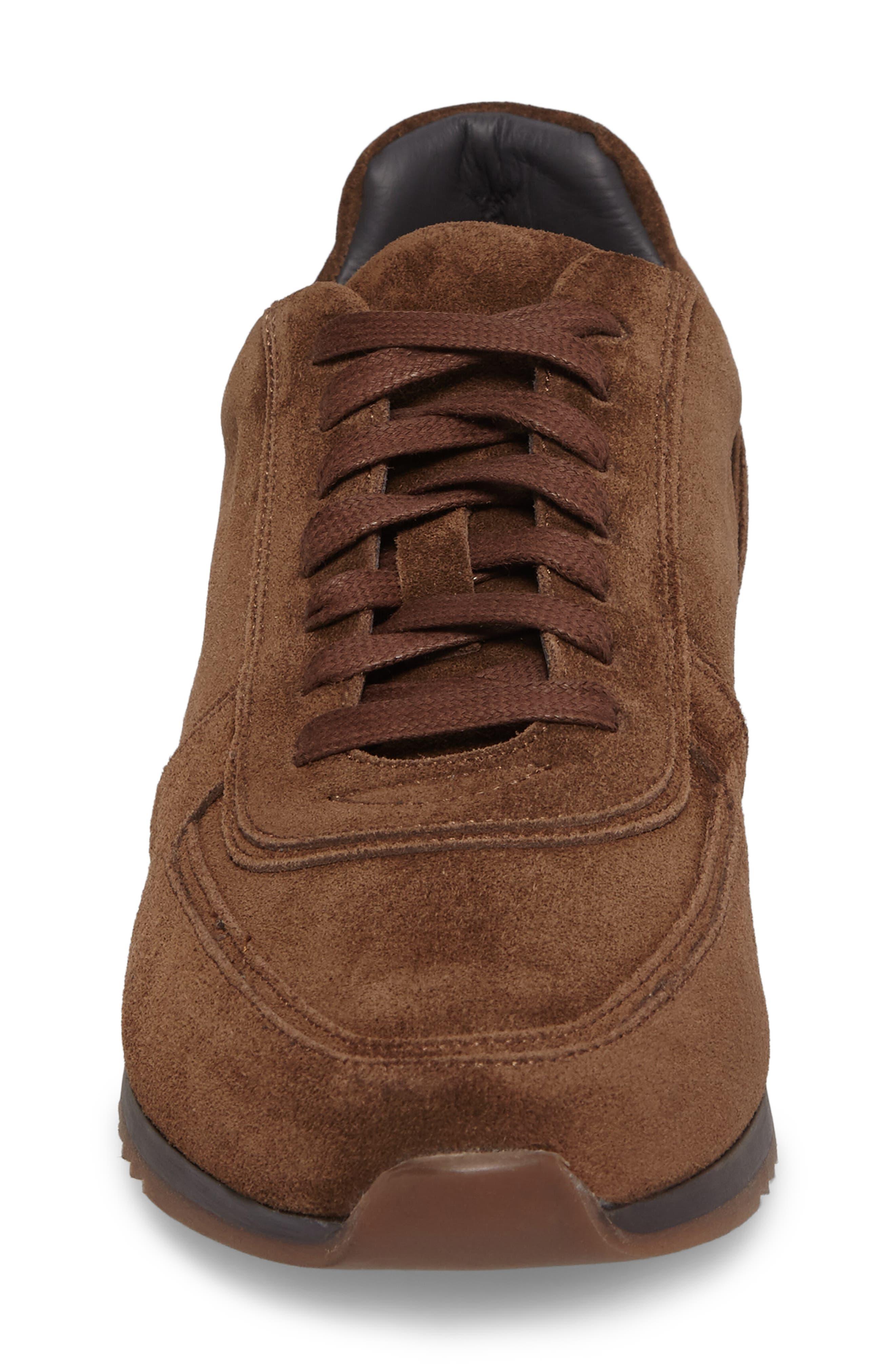Hatton Sneaker,                             Alternate thumbnail 4, color,                             Softy Marrone