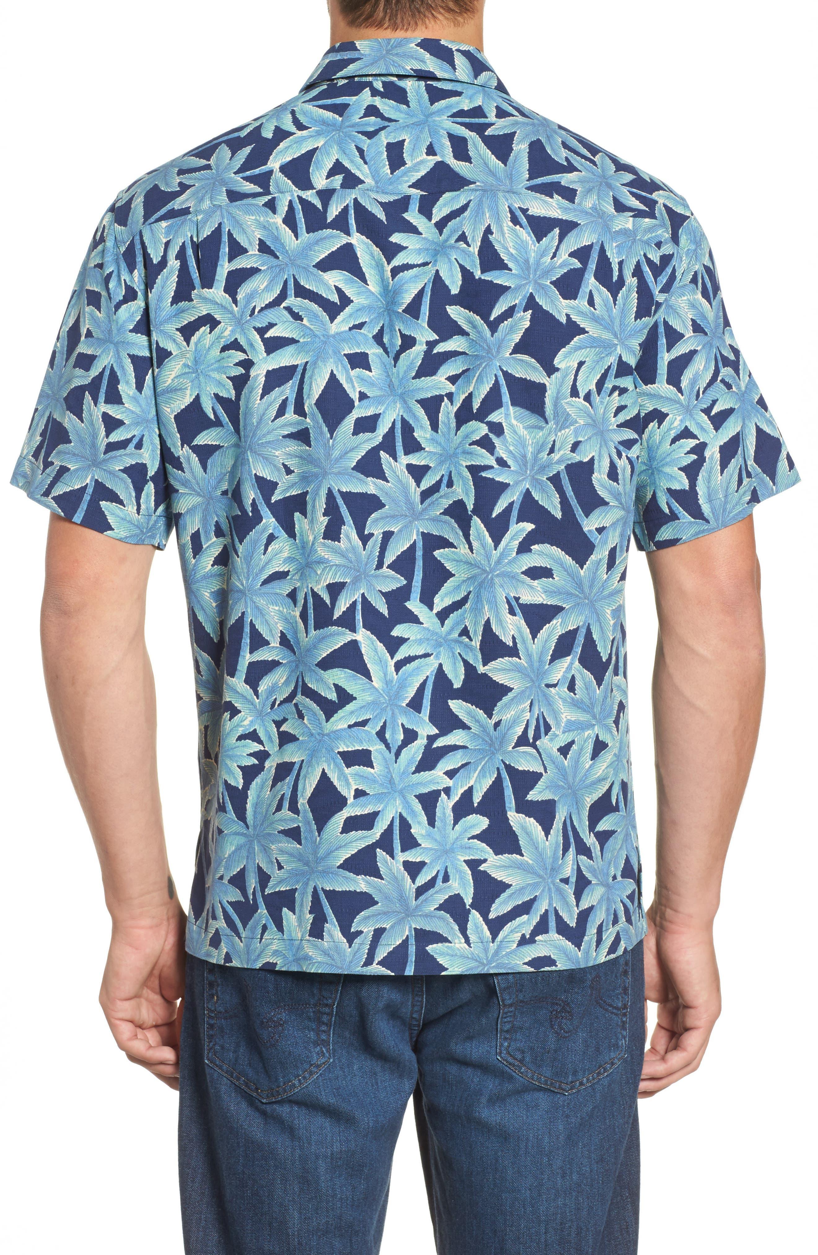 Alternate Image 2  - Tori Richard Elementree Classic Fit Silk Blend Camp Shirt
