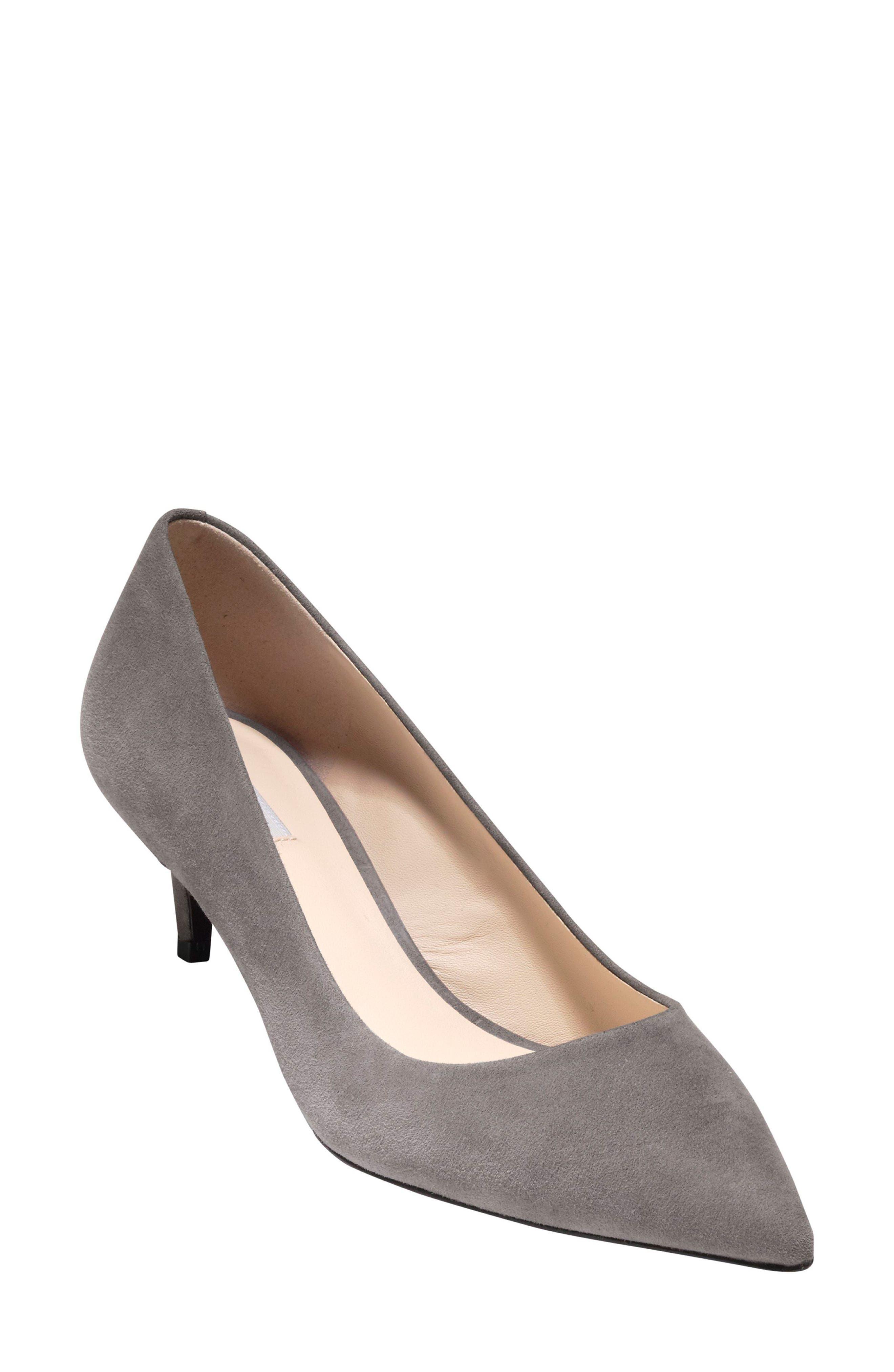 men's cole haan shoes brown dressy pumps low heel 697454