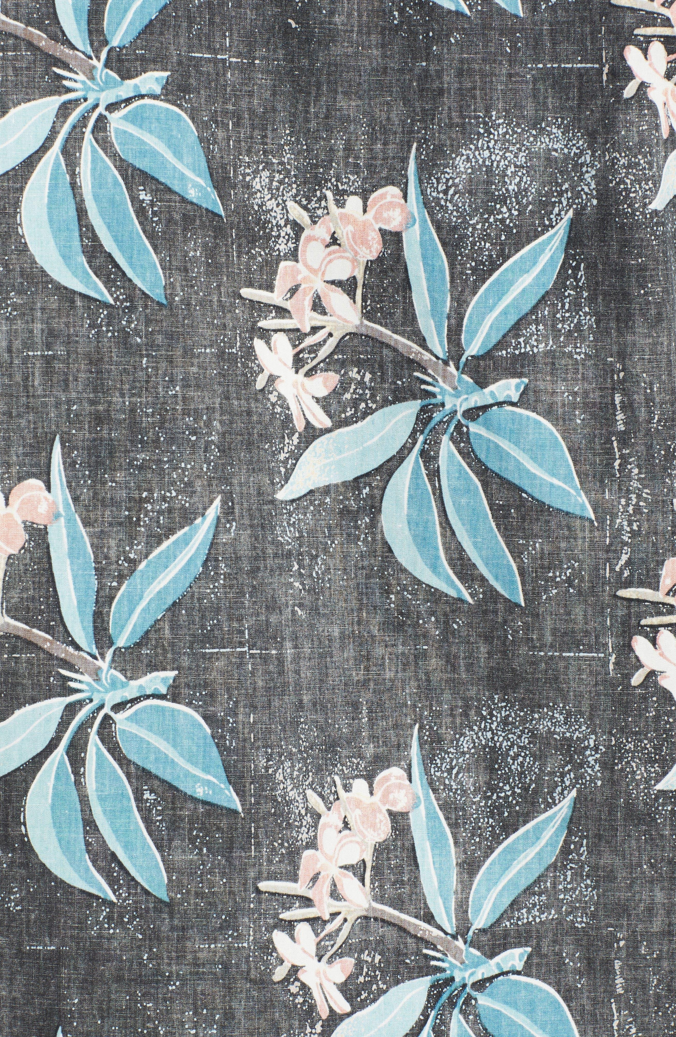 Alternate Image 5  - Kahala Pua Classic Fit Print Sport Shirt