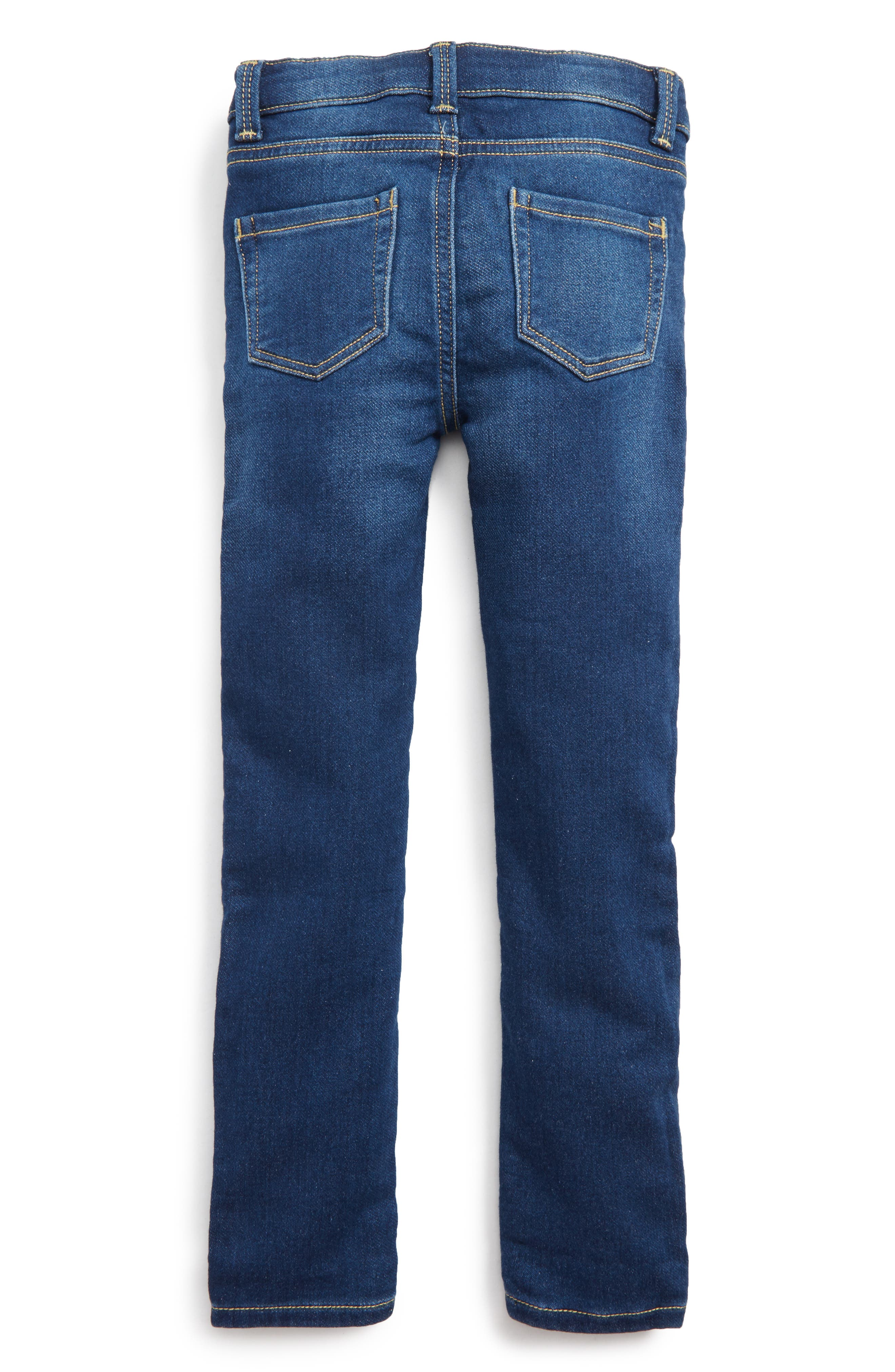 Taylor Skinny Jeans,                             Alternate thumbnail 2, color,                             Med Authentic