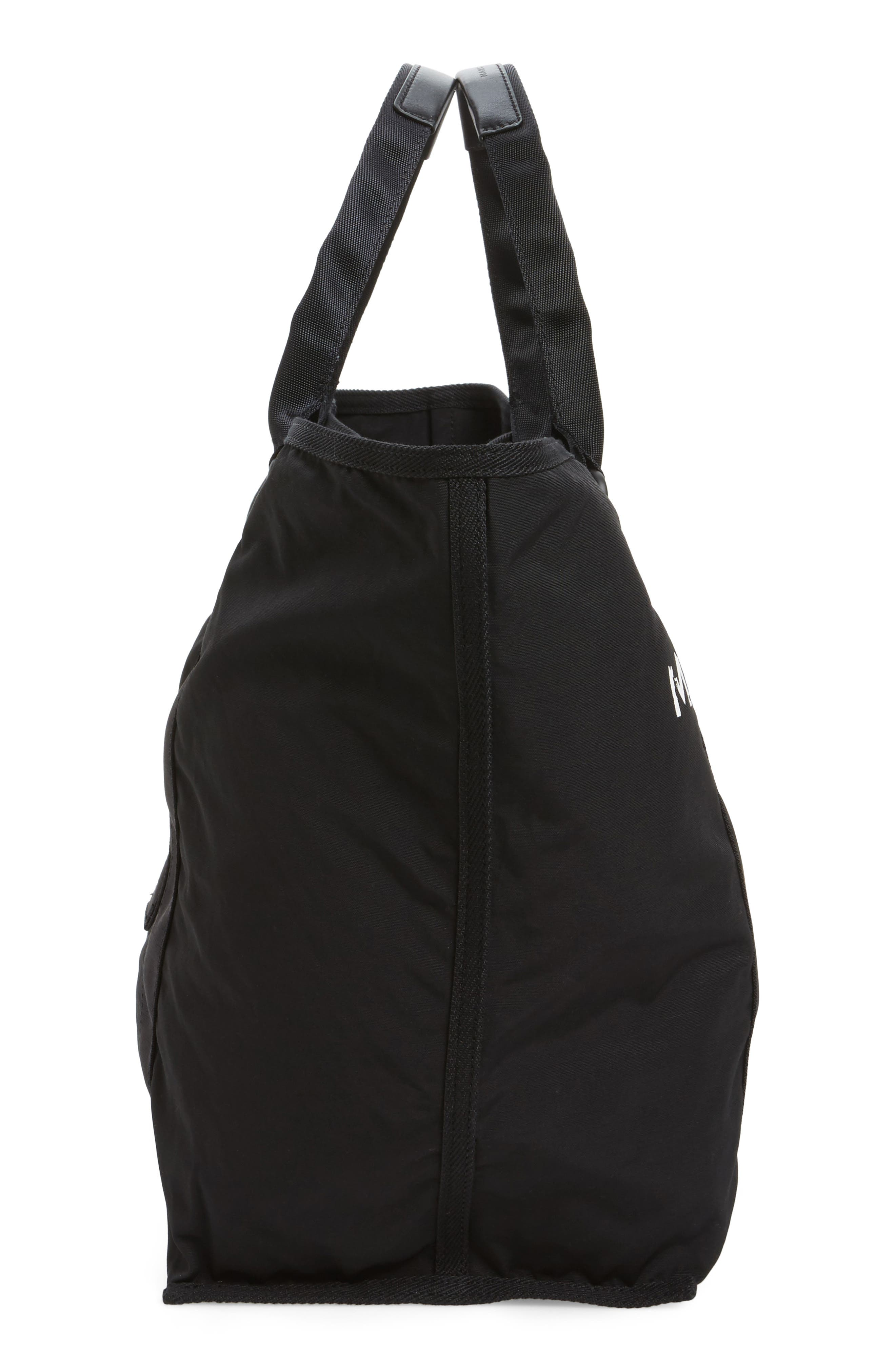 New Logo Tote,                             Alternate thumbnail 4, color,                             Black
