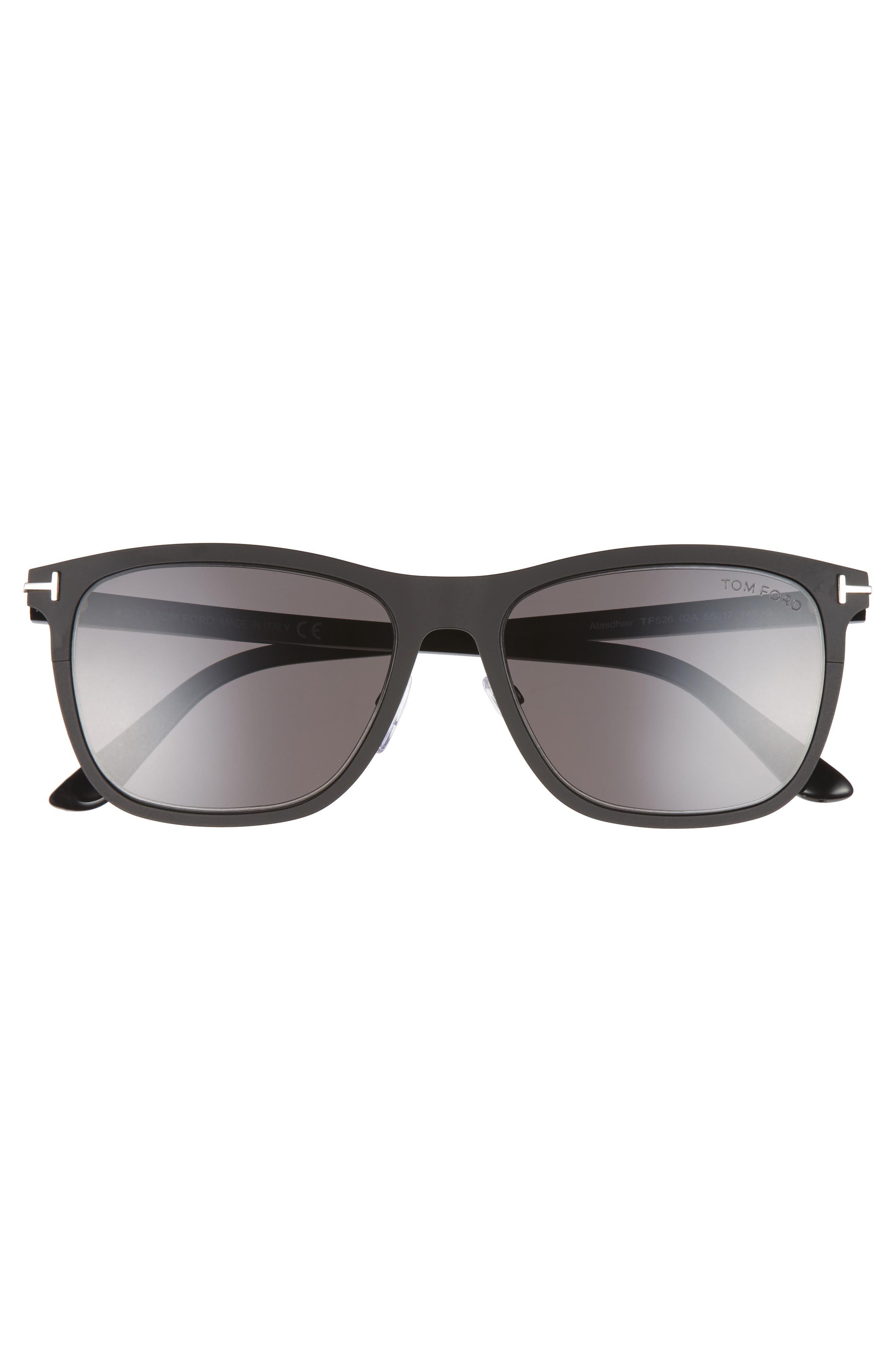 Alternate Image 2  - Tom Ford Alasdhair 55mm Sunglasses