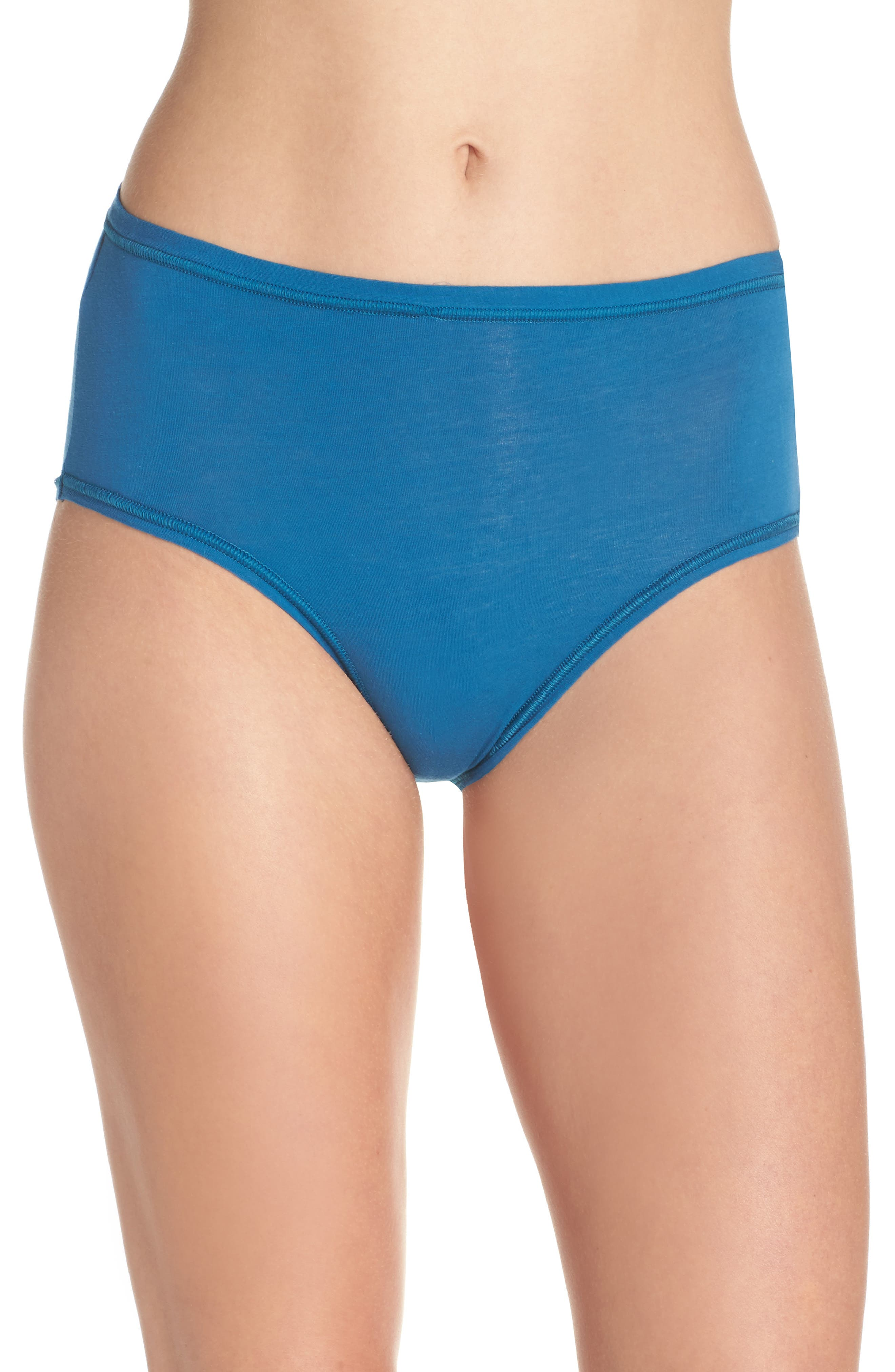 Alternate Image 1 Selected - Wacoal B Fitting High Cut Briefs (3 for $39)