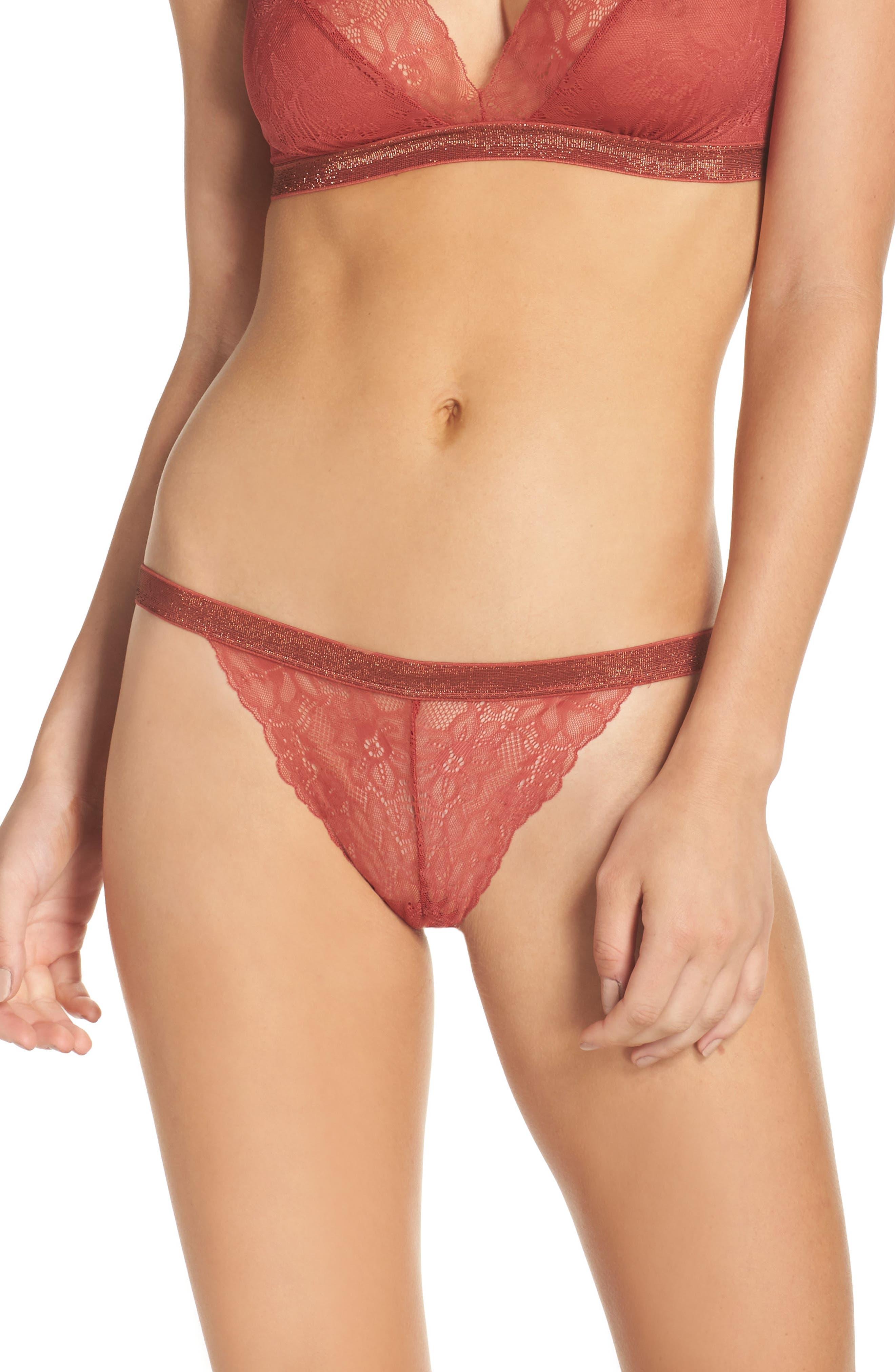 Halogen® Giselle Lace Bikini (3 for $33)