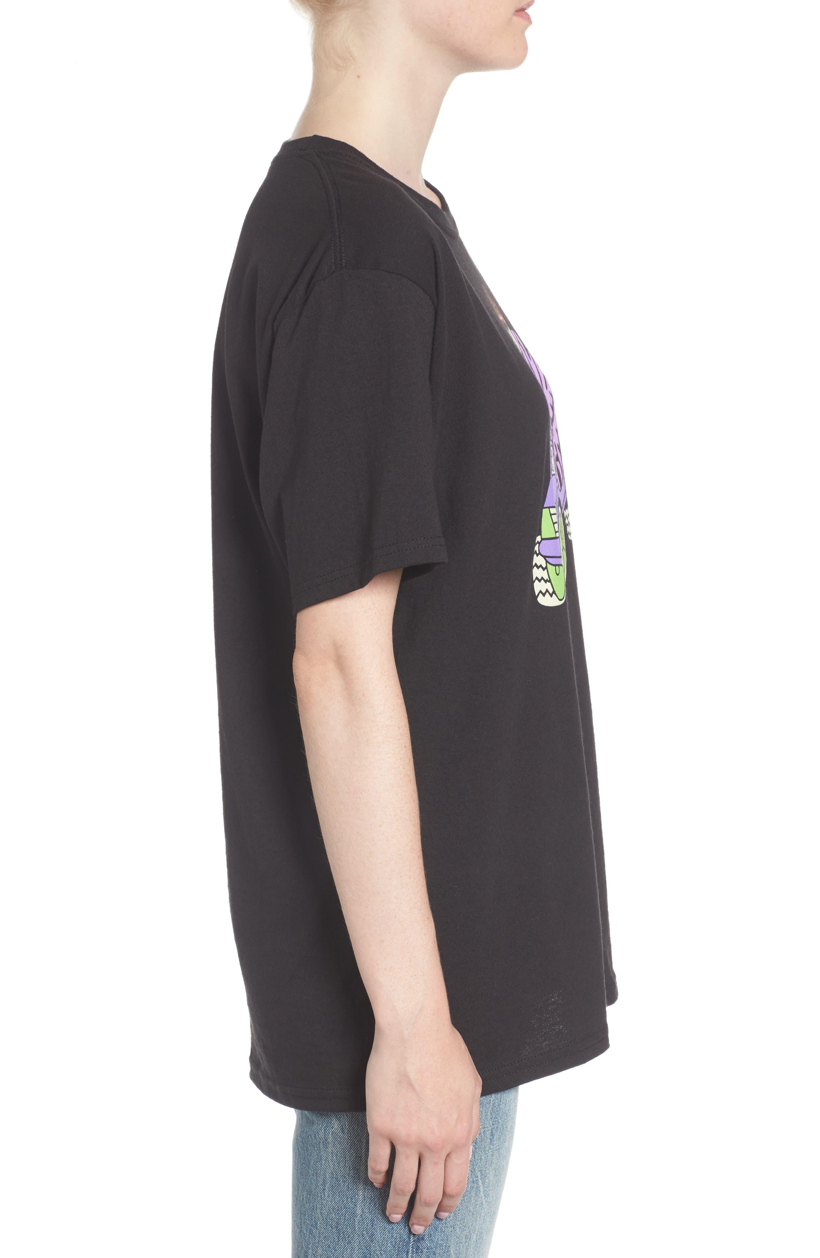 Alternate Image 3  - Gangster Doodles Missy Elliott T-Shirt