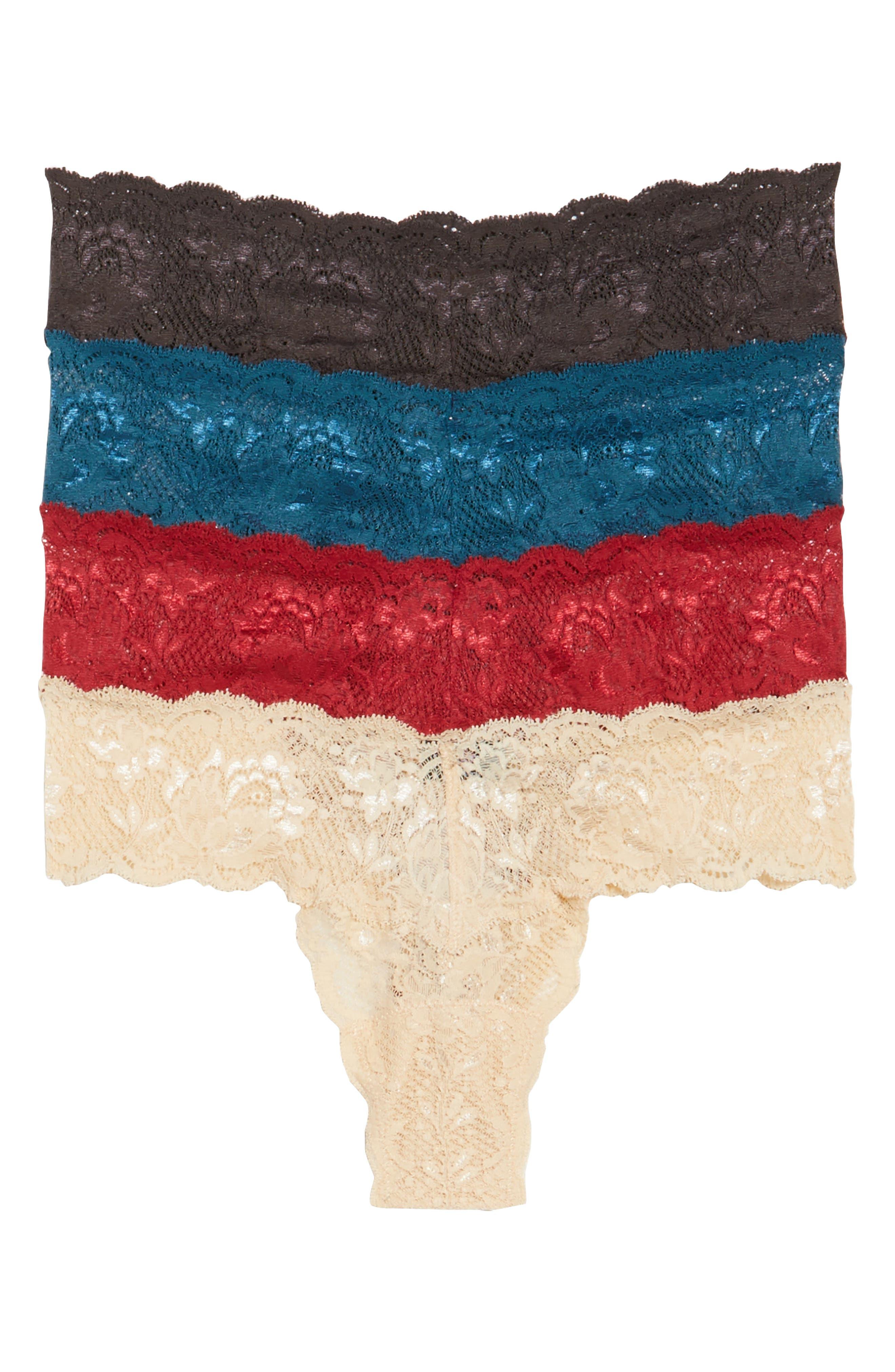 Box of Love 4-Pack Thongs,                         Main,                         color, Multi