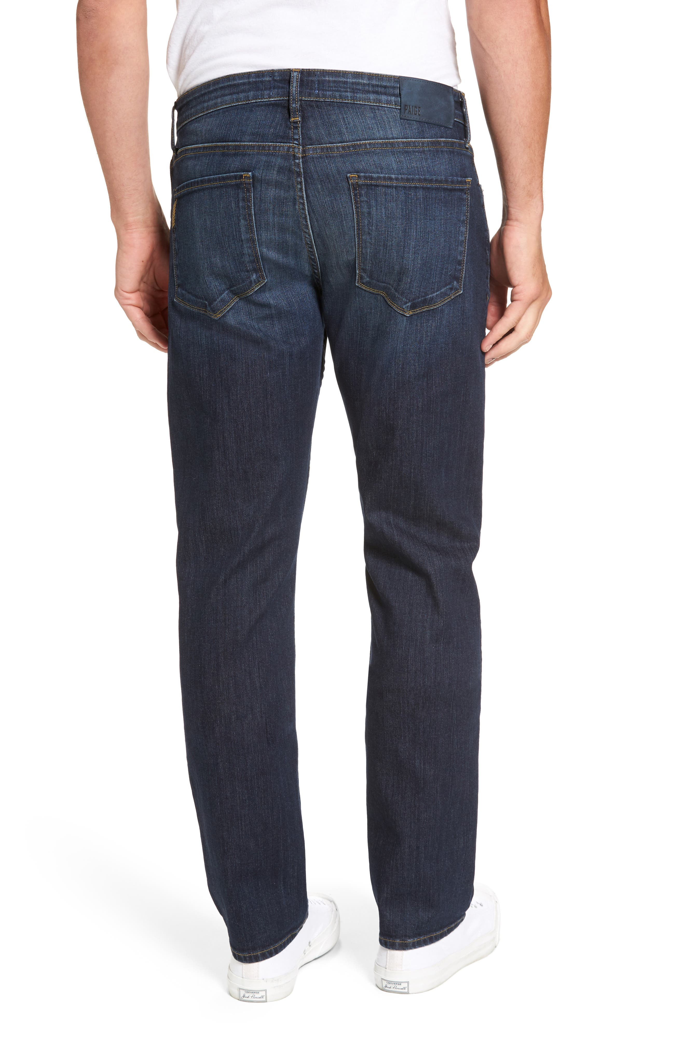 Alternate Image 2  - PAIGE Legacy - Normandie Straight Fit Jeans (Barker)