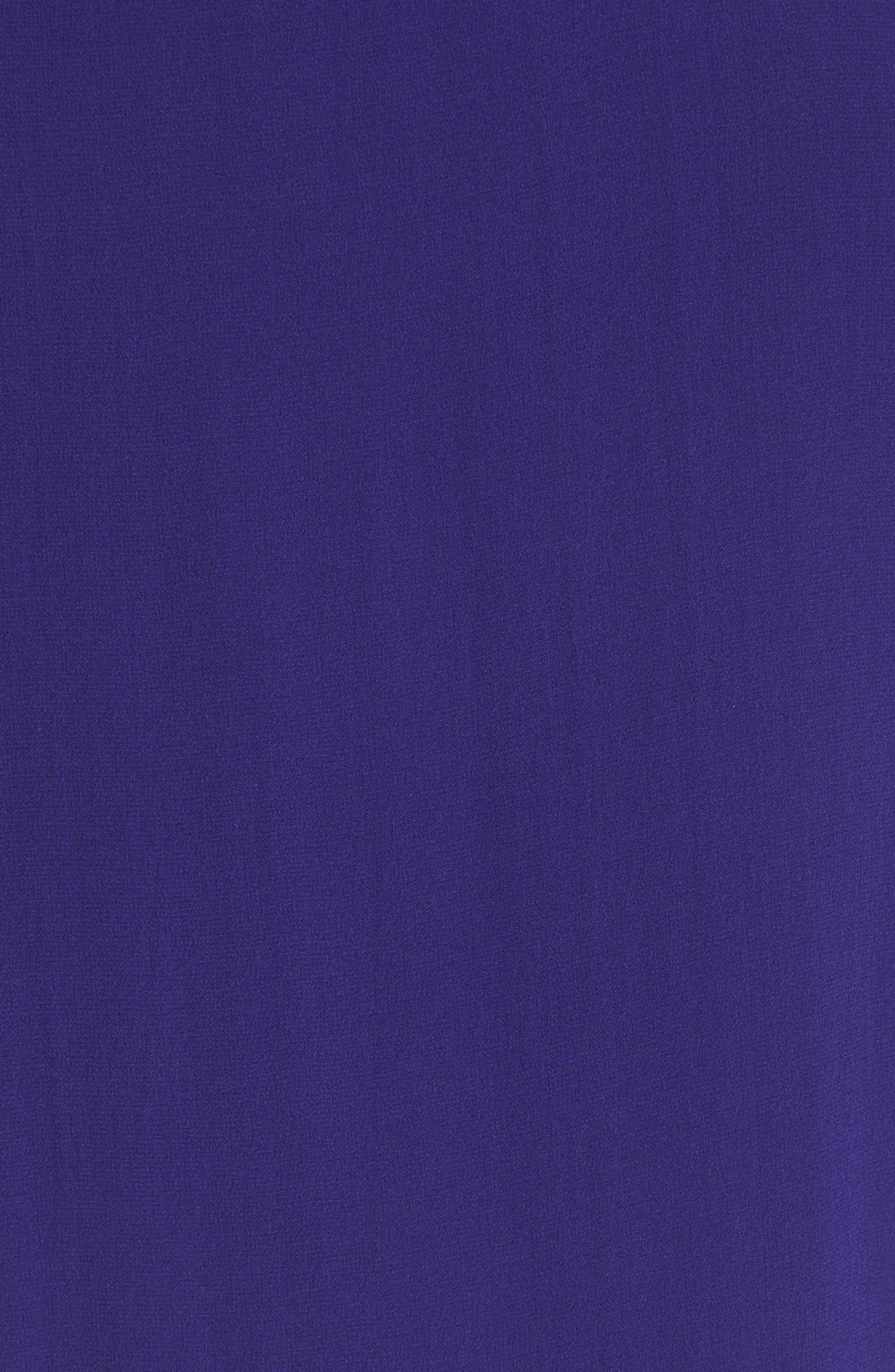Alternate Image 5  - Eileen Fisher Bateau Neck Silk Boxy Top