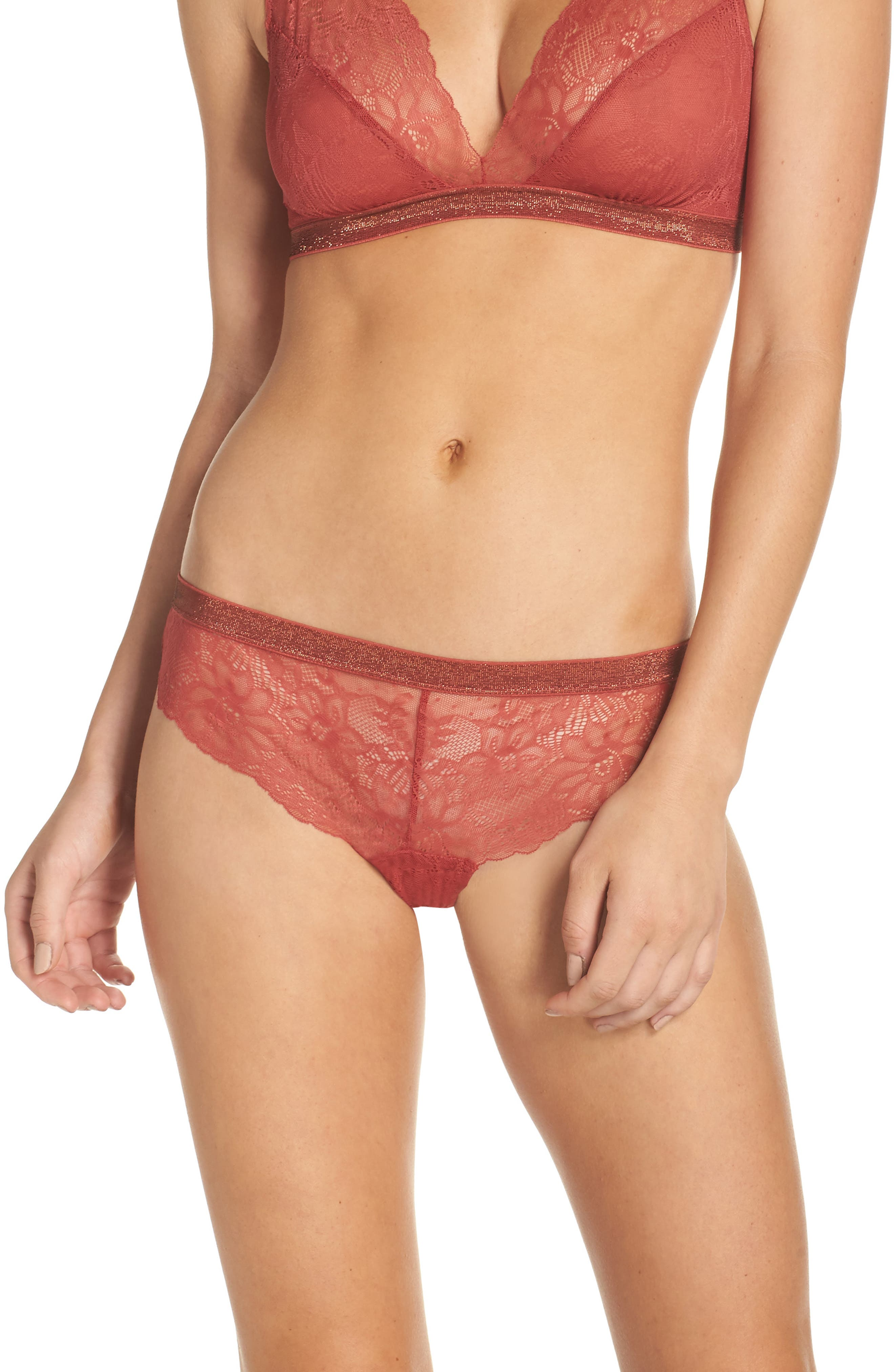 Halogen® Giselle Lace Tanga (3 for $33)