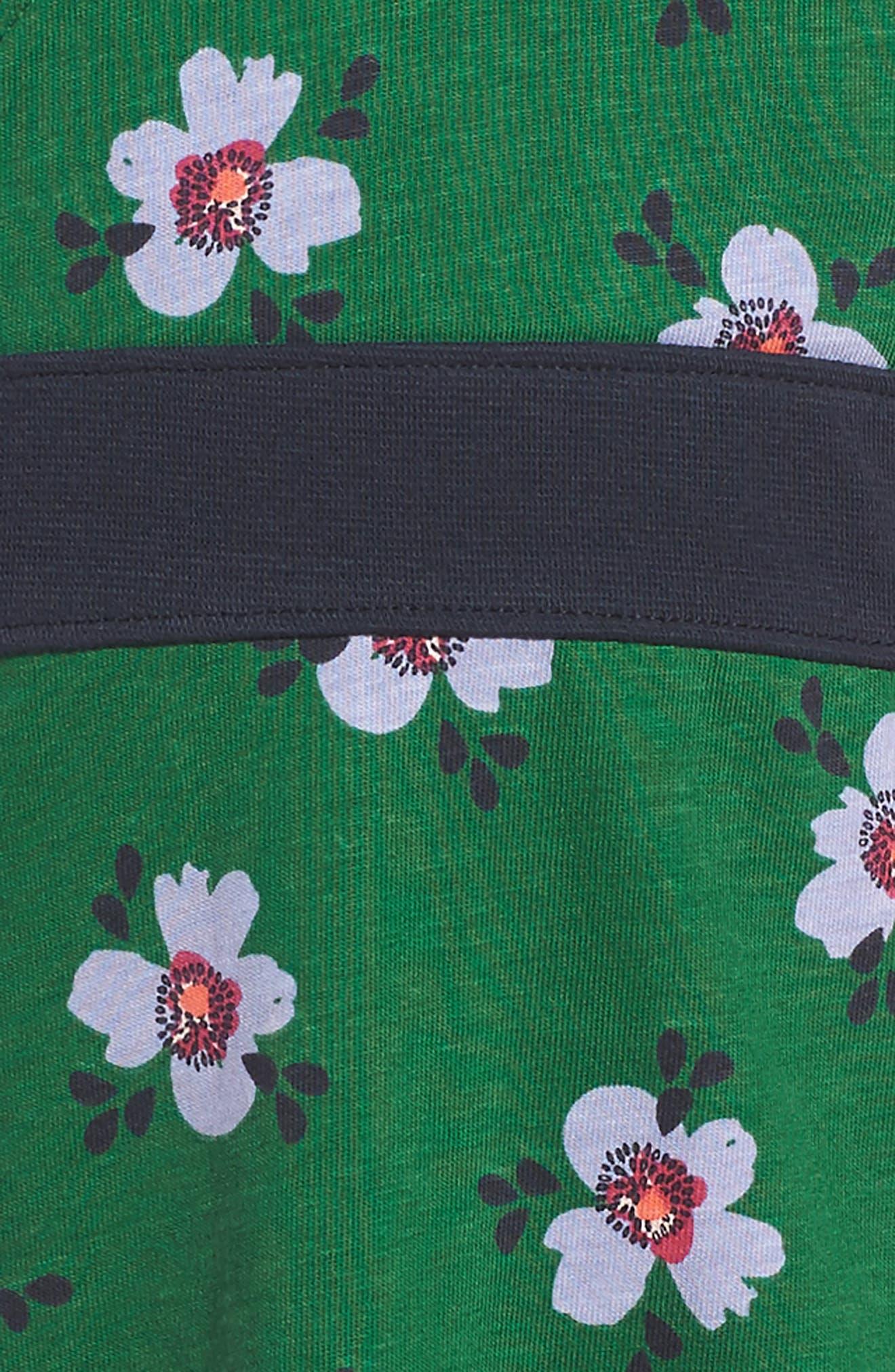 Kelvingrove Wrap Neck Dress,                             Alternate thumbnail 3, color,                             Blade