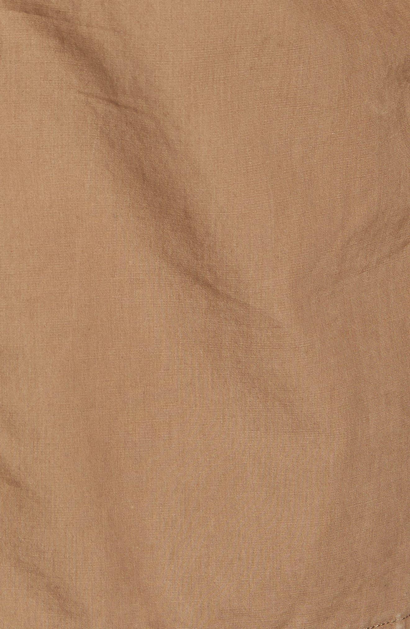 Mt. Davis M65 Waxed Canvas Jacket,                             Alternate thumbnail 5, color,                             Cub