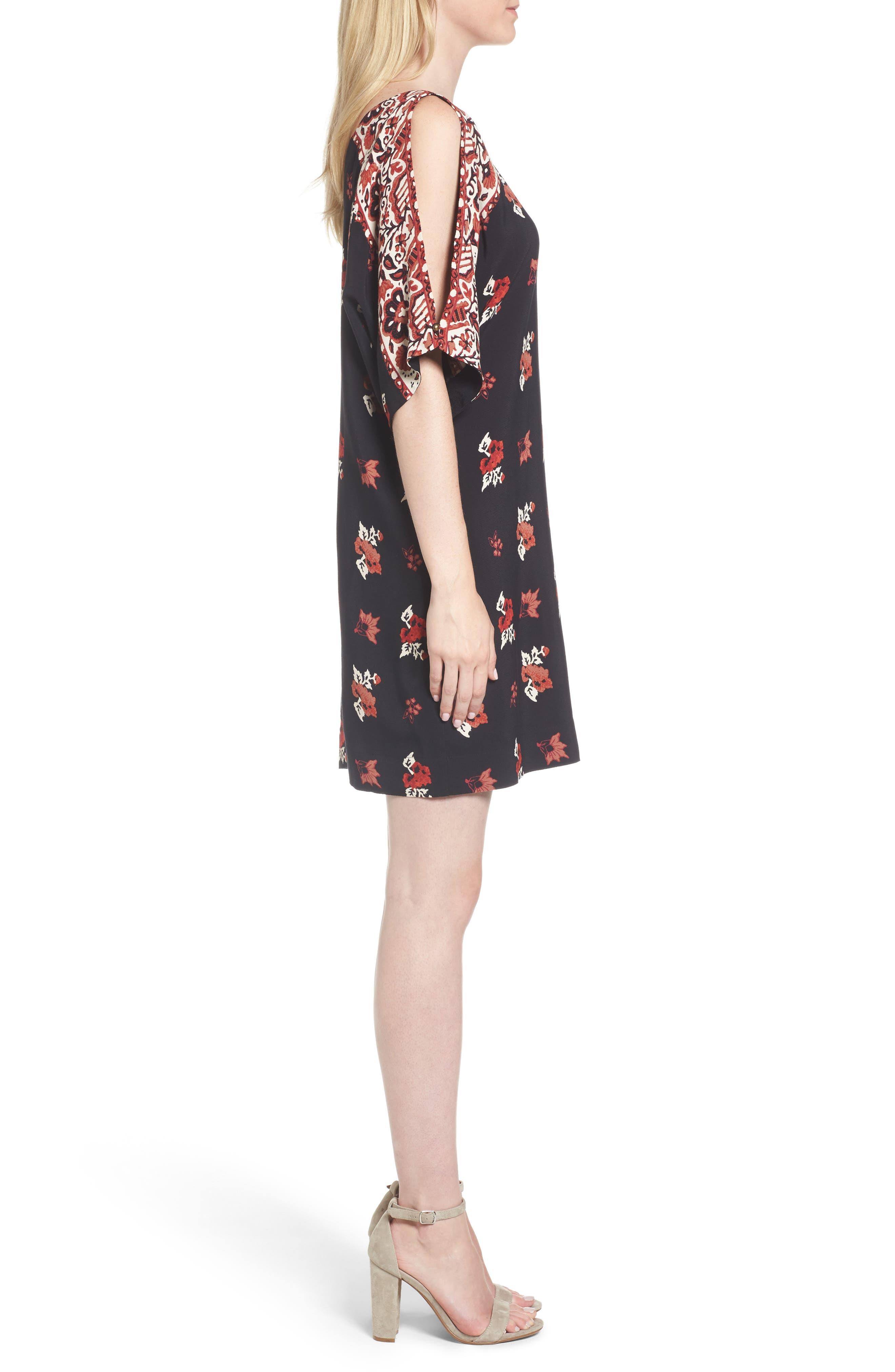 Alternate Image 3  - Ella Moss Floral Shift Dress