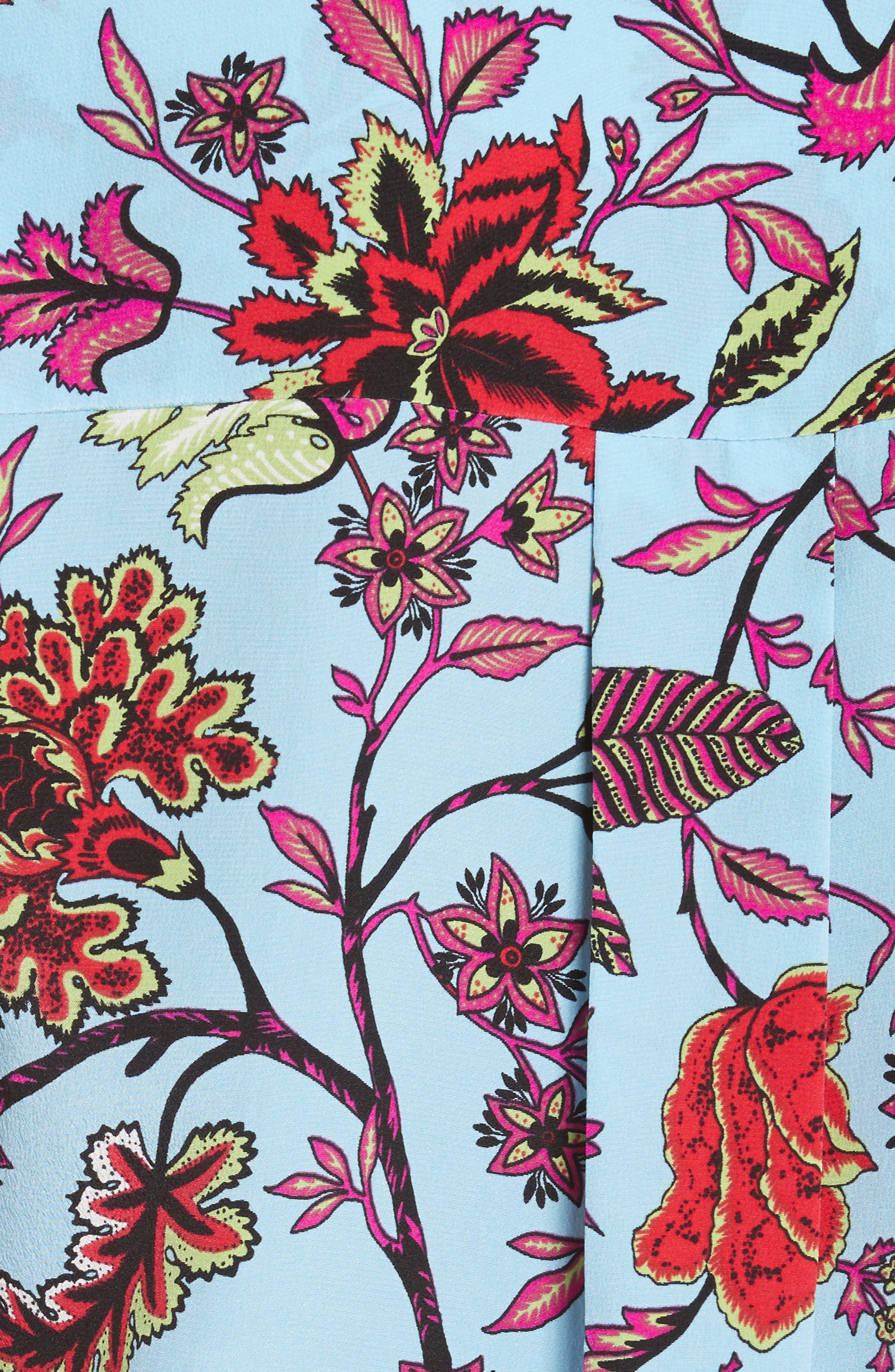 Alternate Image 5  - Diane von Furstenberg Floral Silk Blouse
