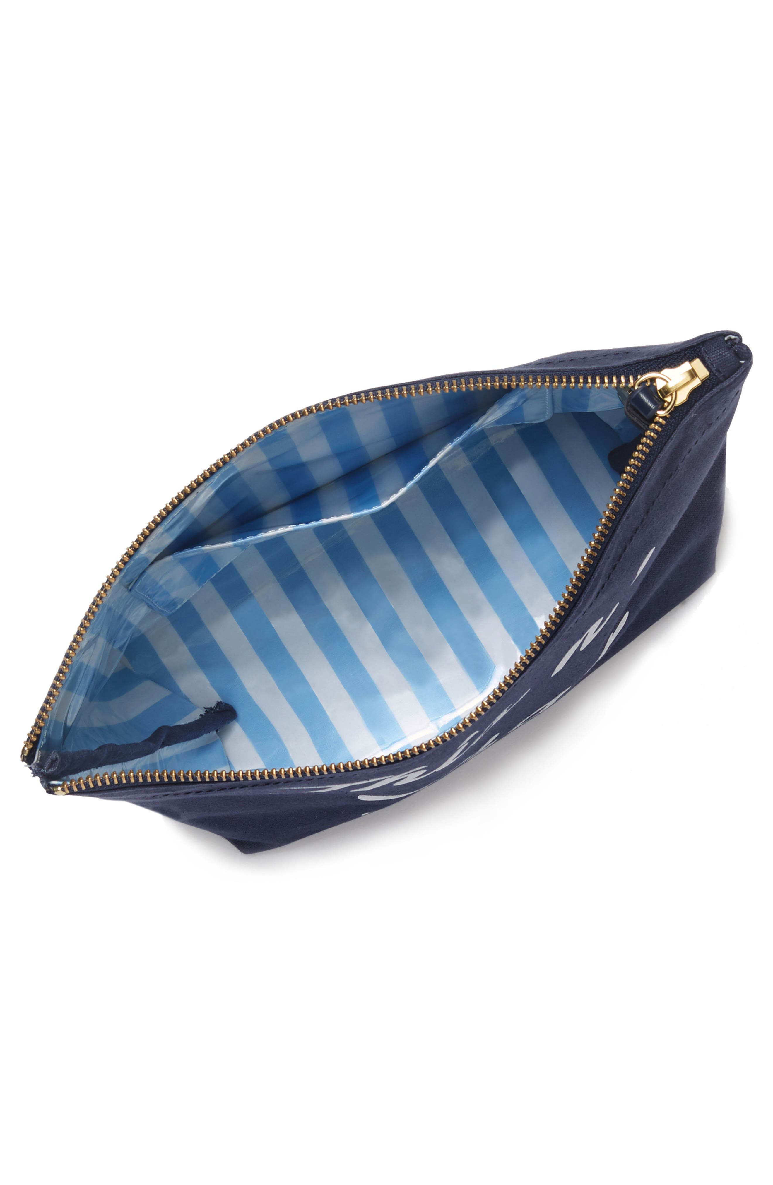 Alternate Image 2  - Draper James This 'N That Canvas Pouch