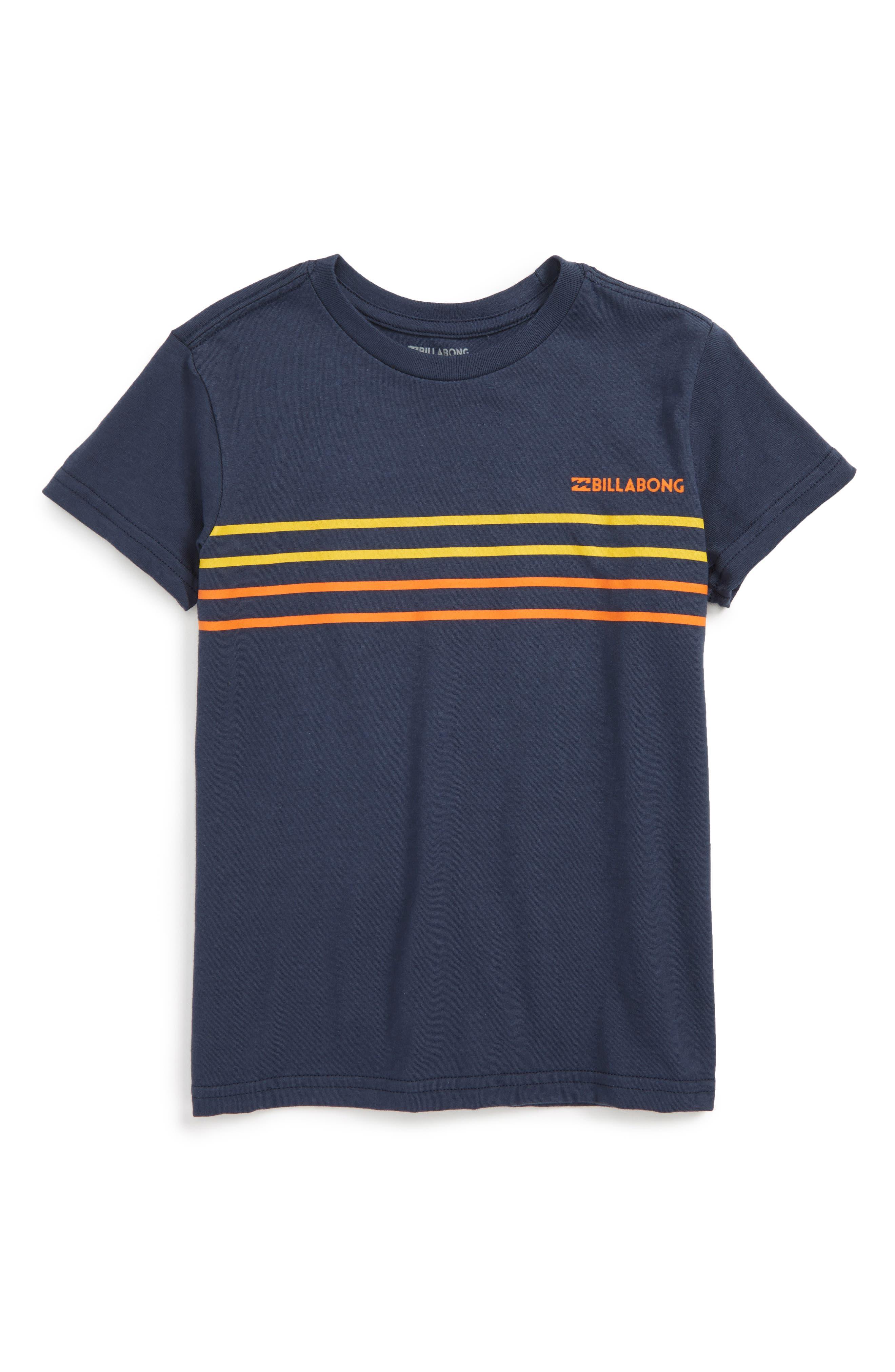 Billabong Spinner Stripe Print T-Shirt (Toddler Boys & Little Boys)