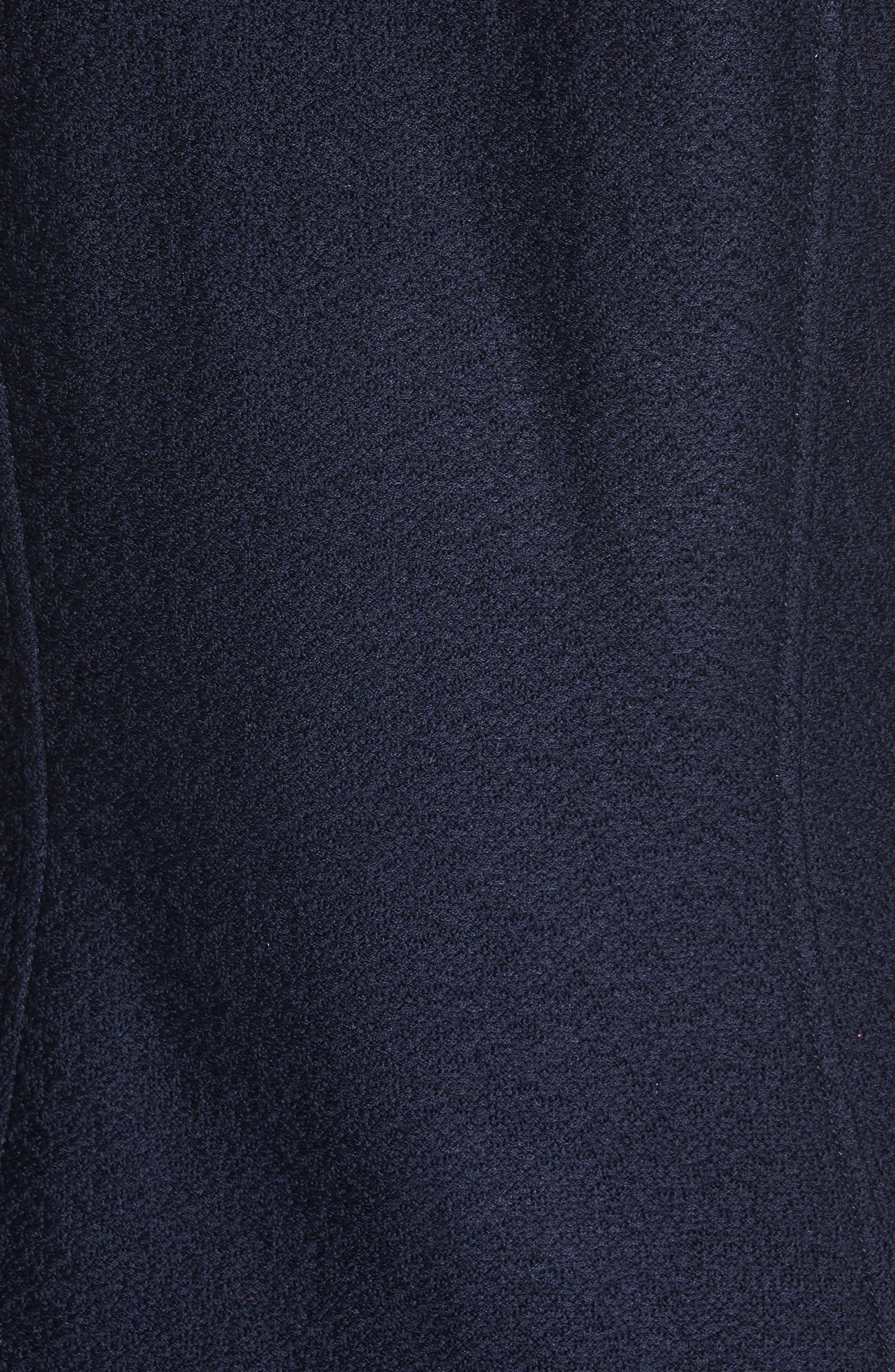 Hannah Knit Jacket,                             Alternate thumbnail 6, color,                             Navy
