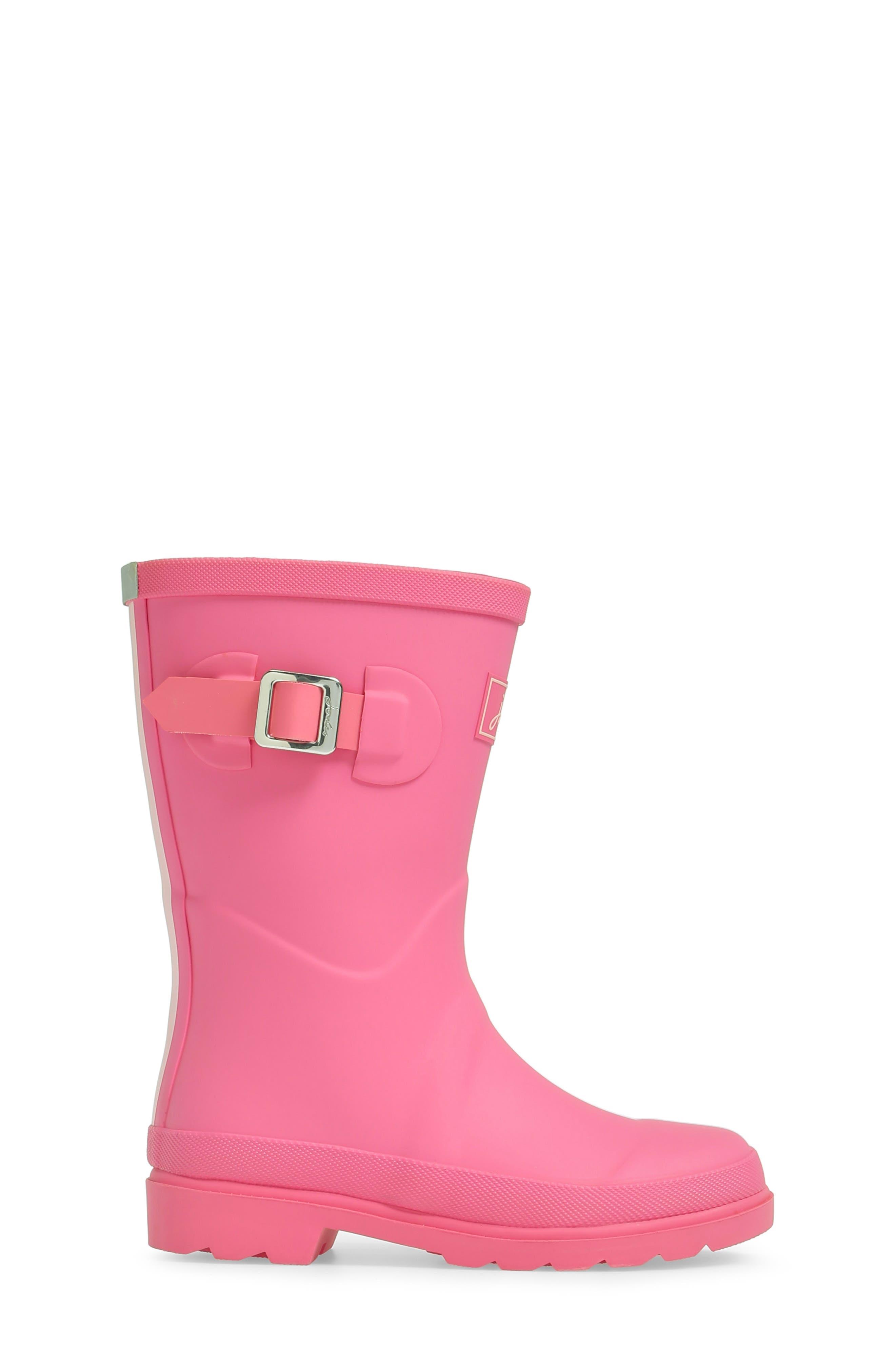 Alternate Image 3  - Joules Welly Matte Waterproof Rain Boot (Toddler, Little Kid & Big Kid)