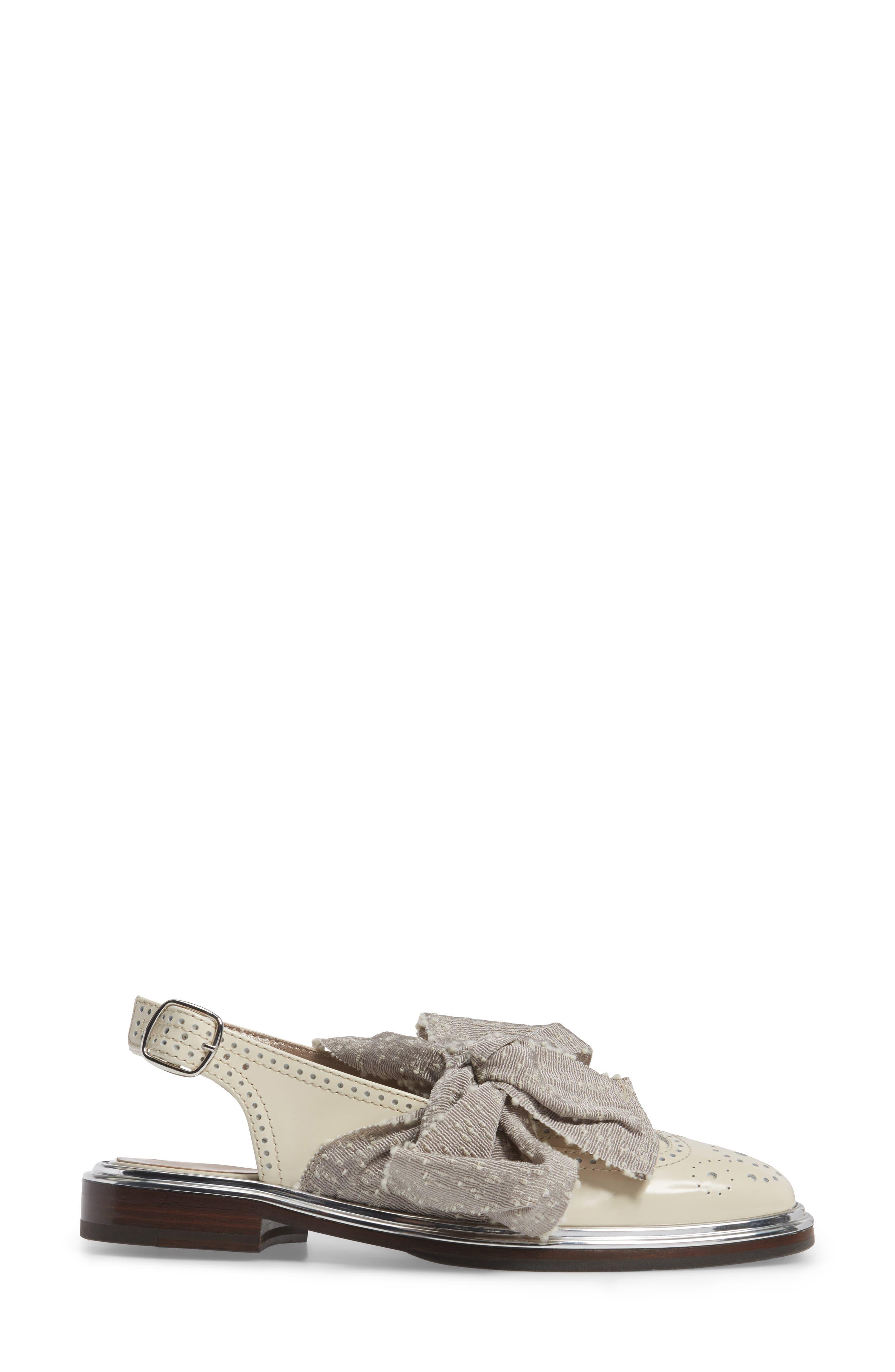 Alternate Image 3  - AGL Bow Slingback Flat (Women)
