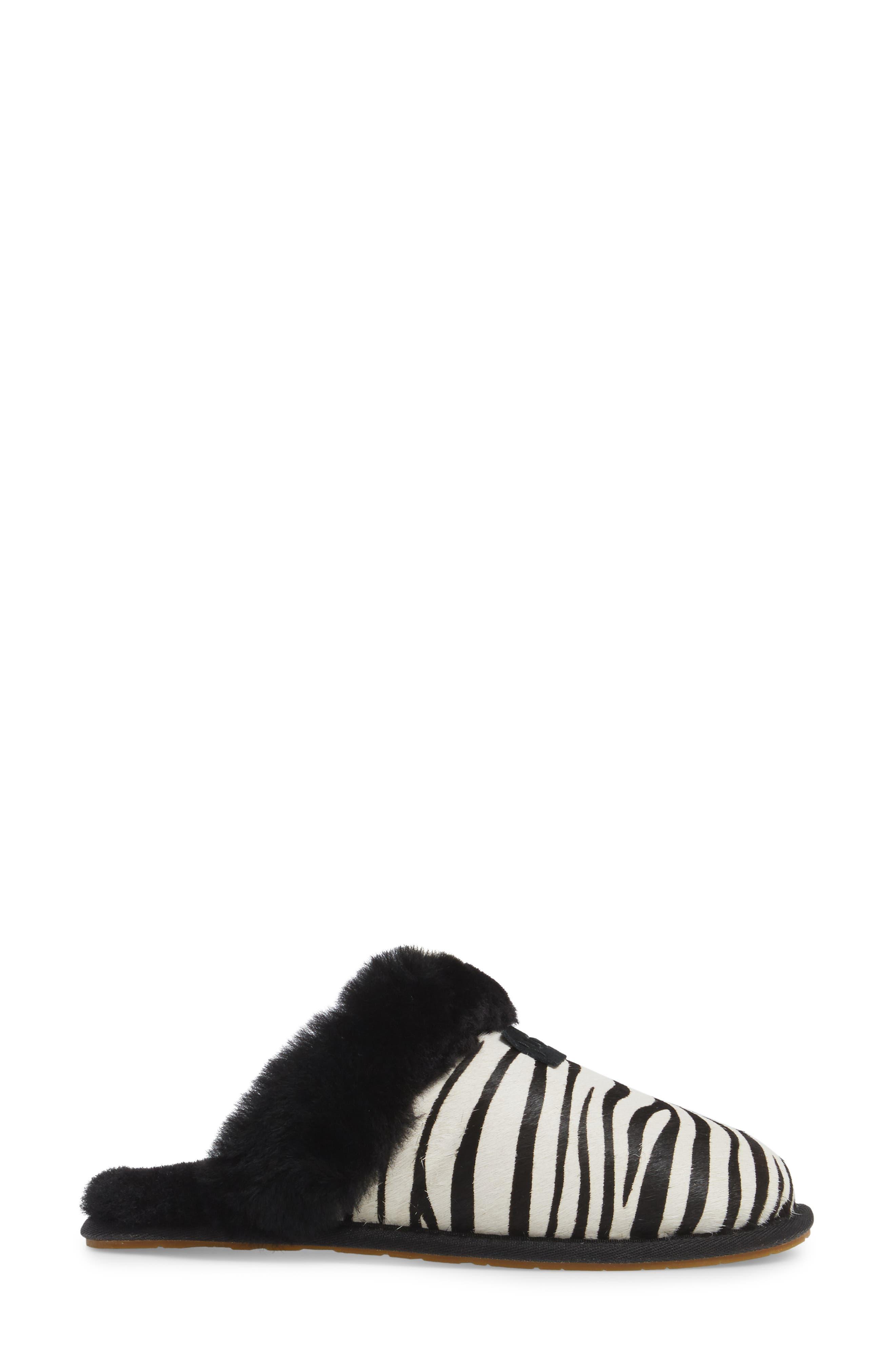 Alternate Image 3  - UGG® Australia Scuffette II - Exotic Genuine Calf Hair Slipper (Women)
