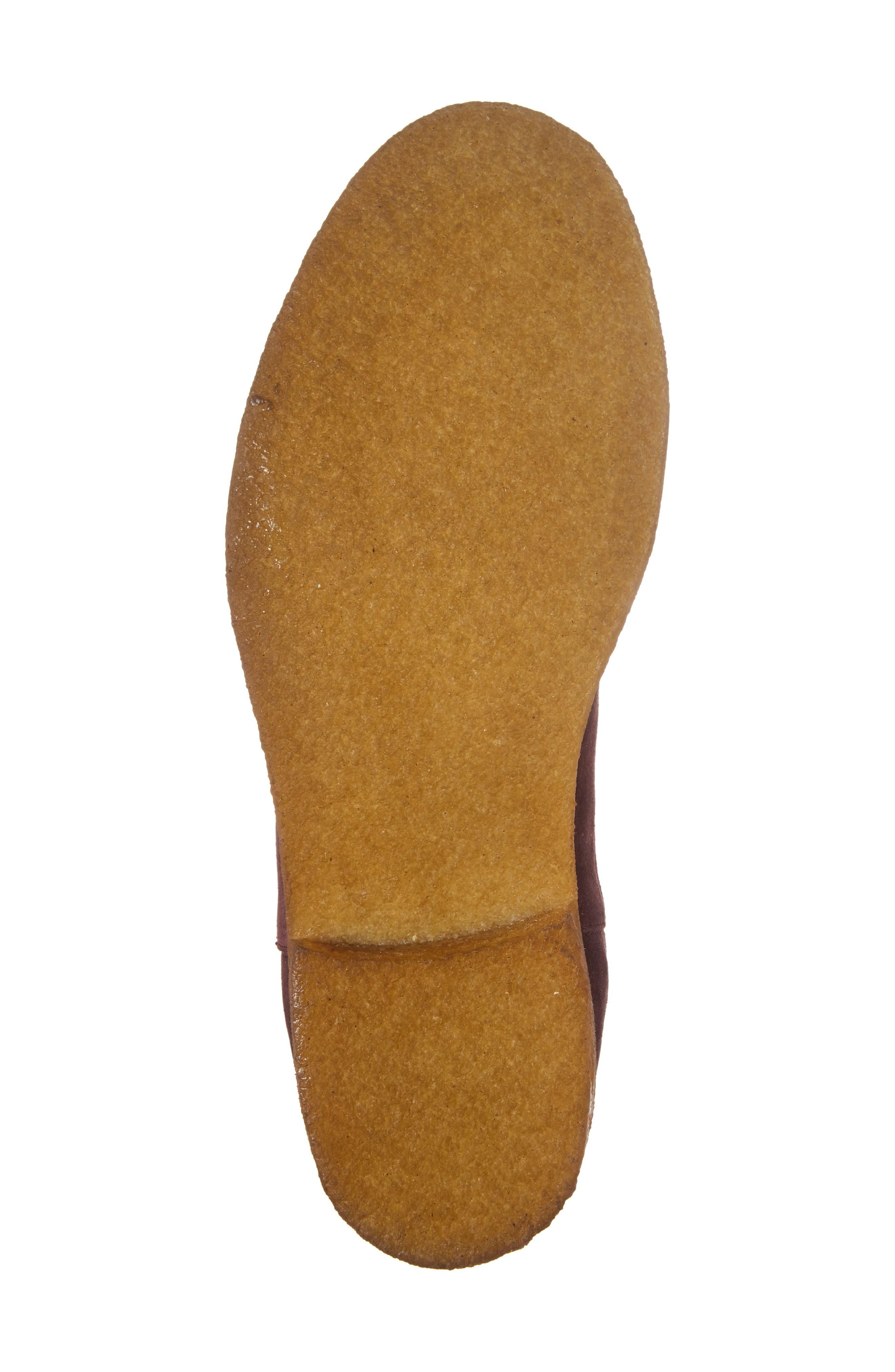 Chelsea Boot,                             Alternate thumbnail 7, color,                             Prunga Burgundy