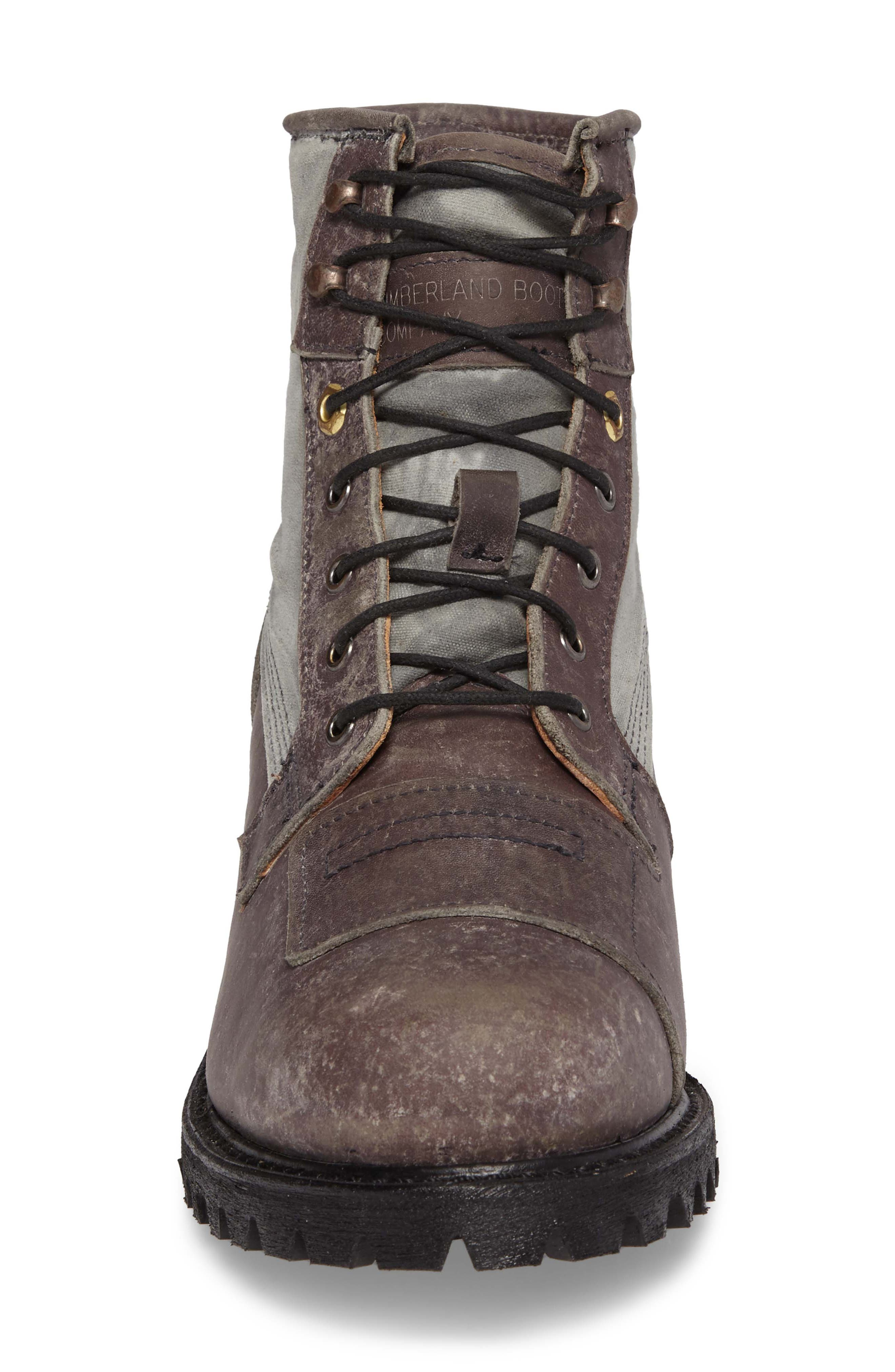 Smuggler's Notch Boot,                             Alternate thumbnail 4, color,                             Dark Grey Boundry