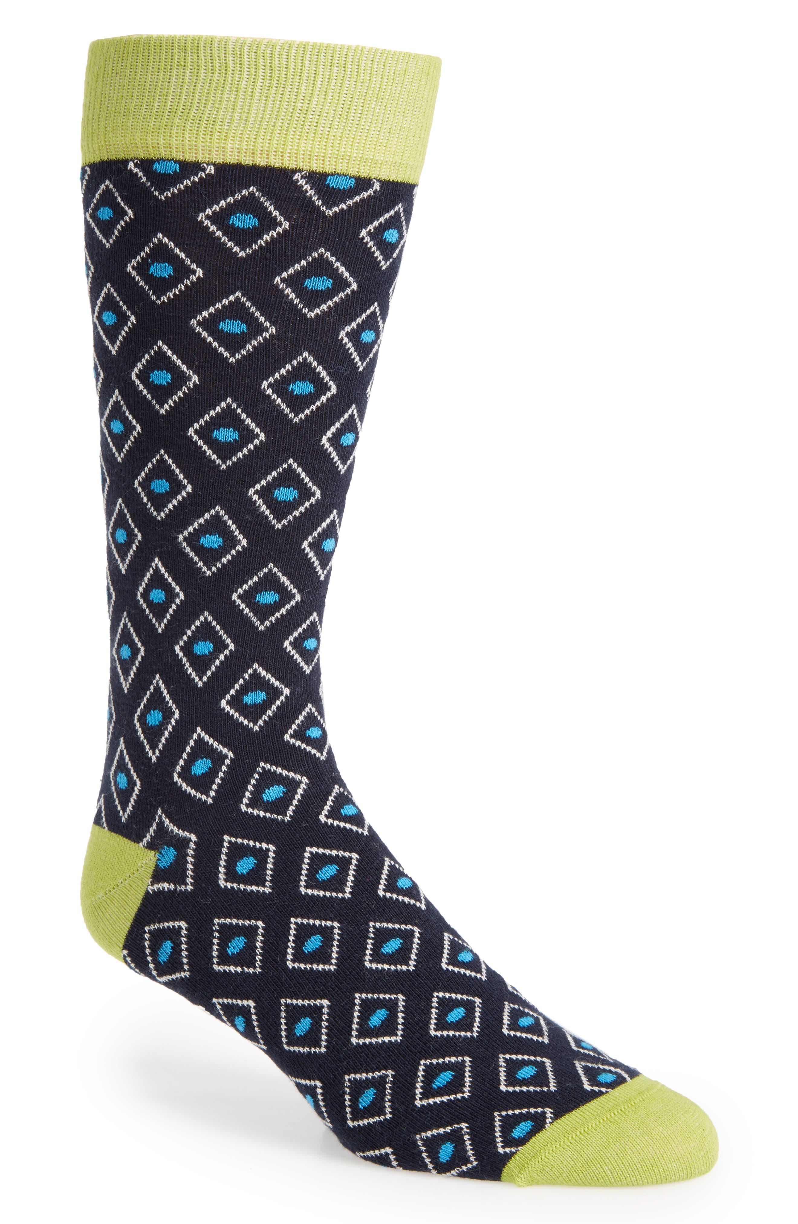 TED BAKER LONDON Diamond Geo Socks