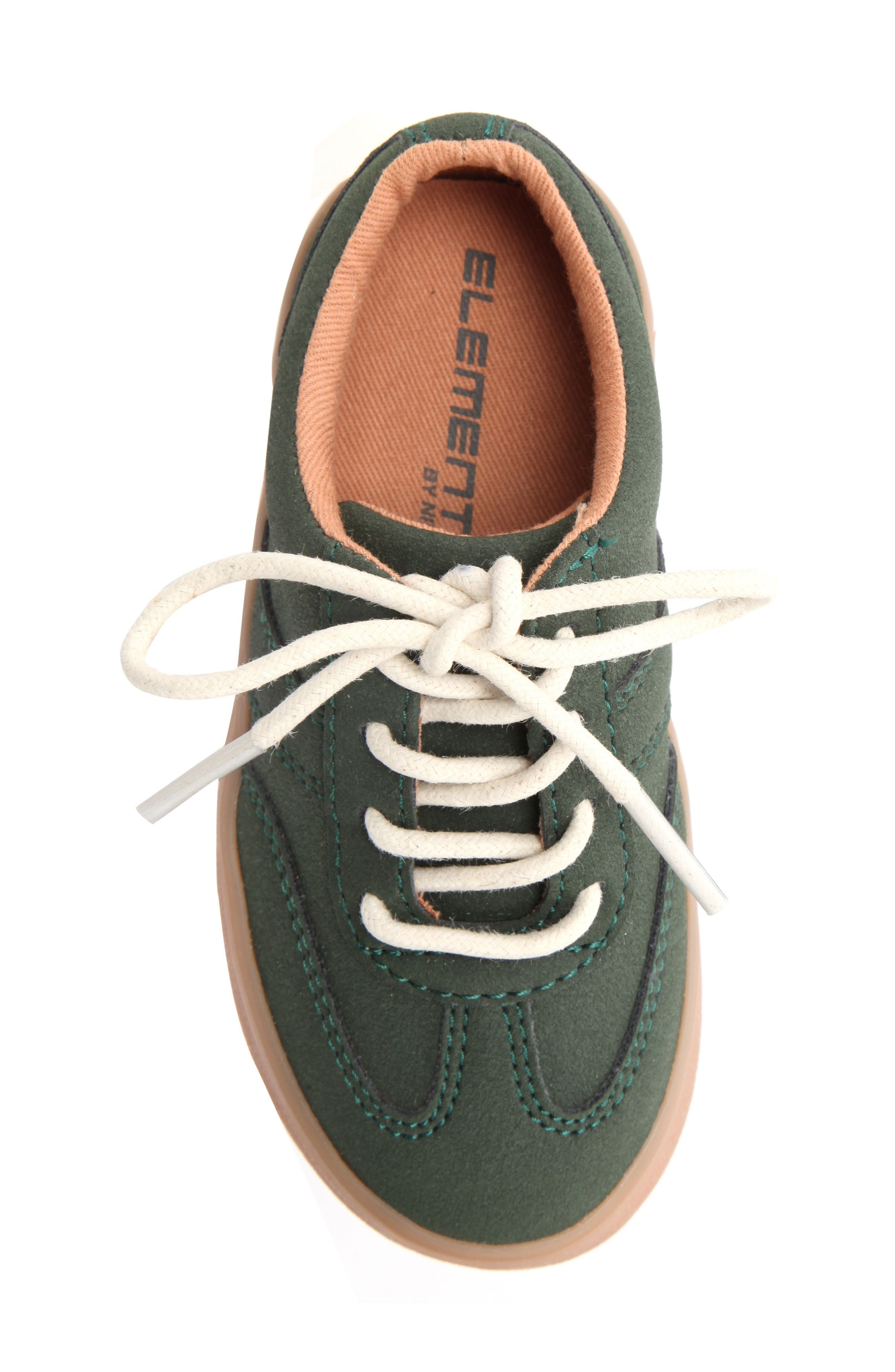 Neal Low Top Sneaker,                             Alternate thumbnail 5, color,                             Olive Suede
