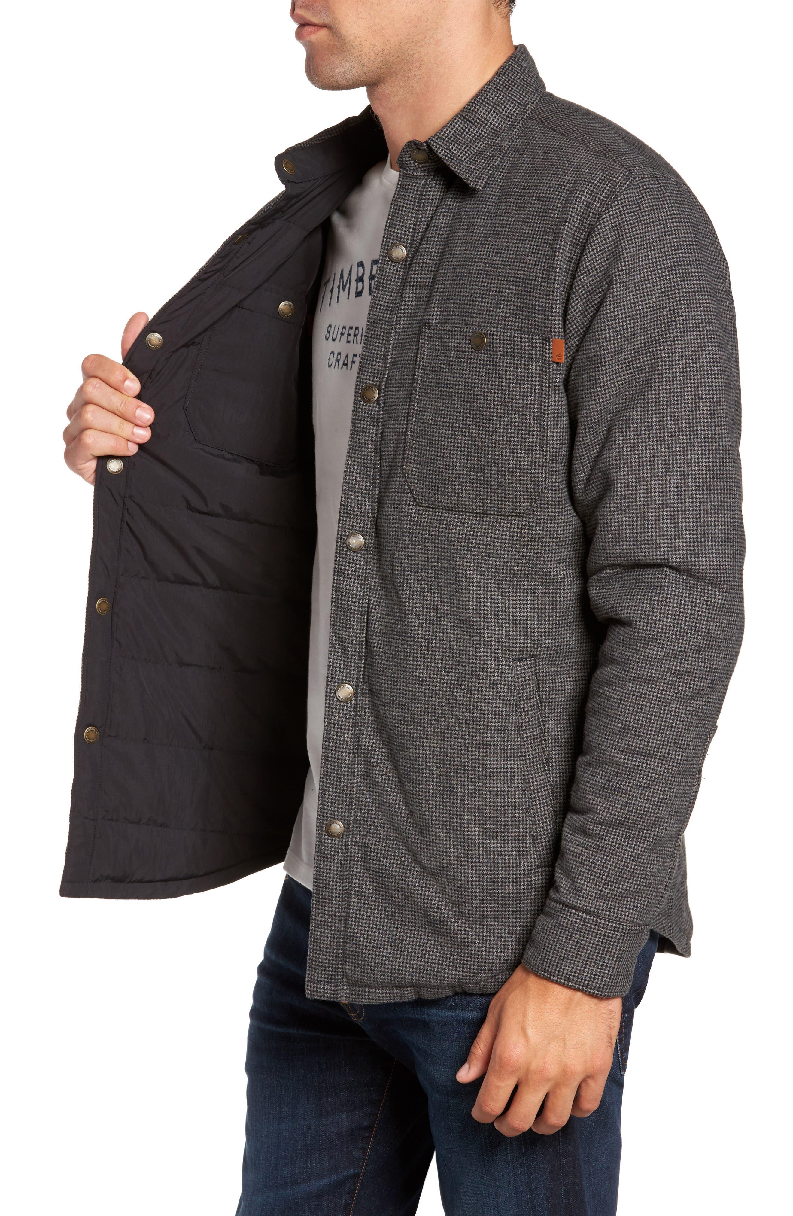 Alternate Image 3  - Timberland Gunstock River Reversible Down Shirt Jacket