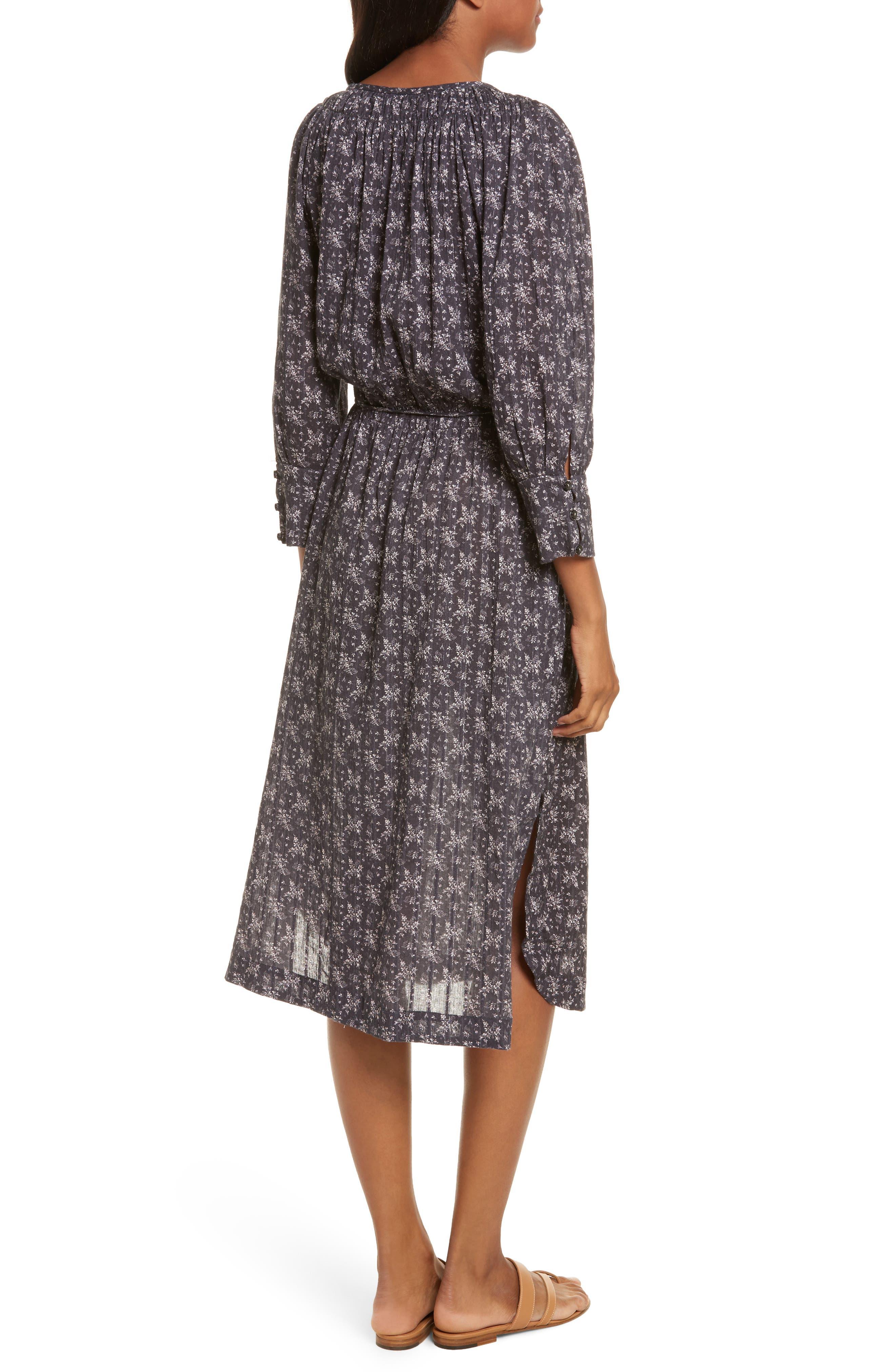 Angelique Long Sleeve Dress,                             Alternate thumbnail 2, color,                             Black Combo