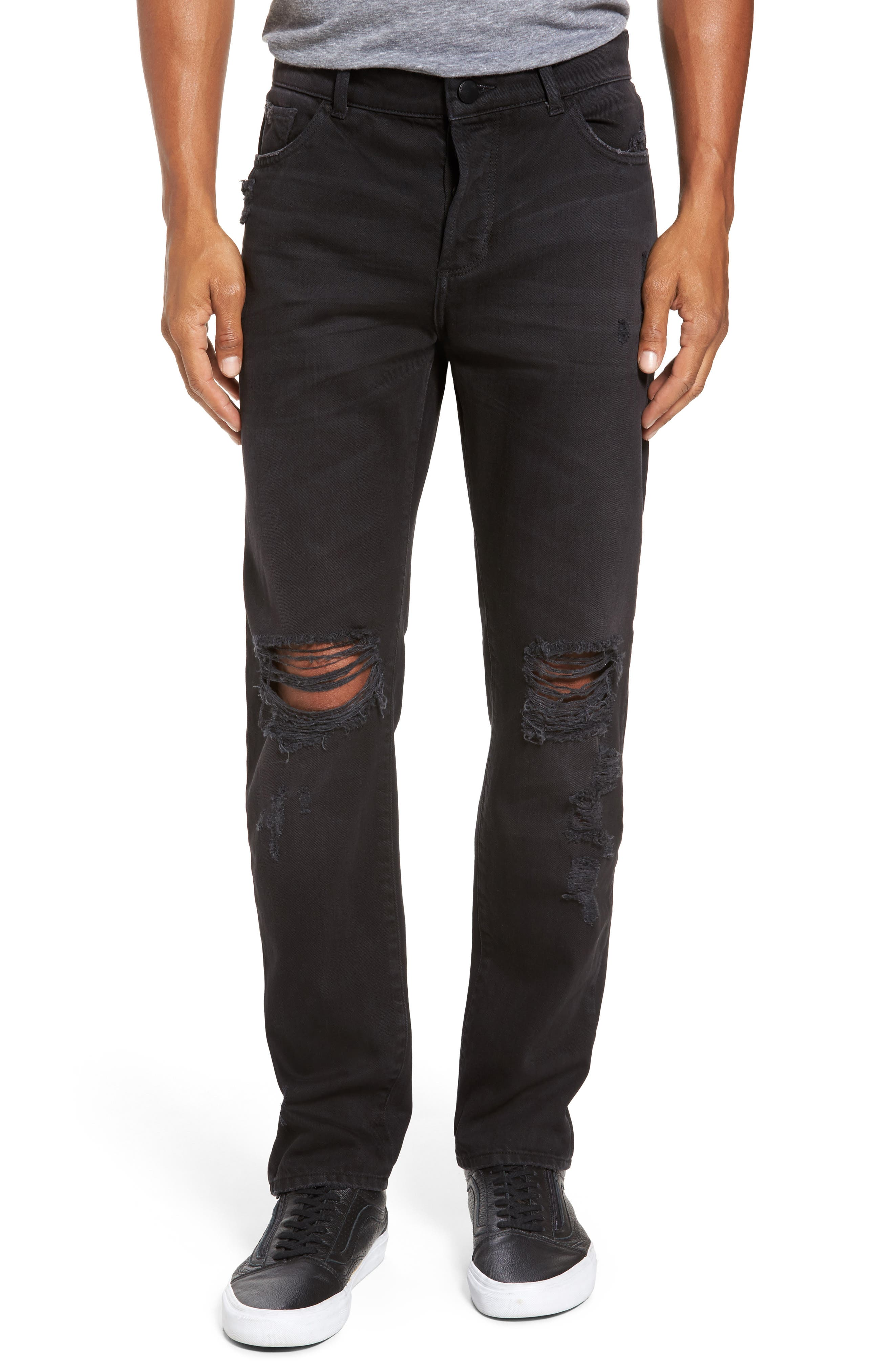 Main Image - DL1961 Cooper Slouchy Skinny Jeans (Decay)