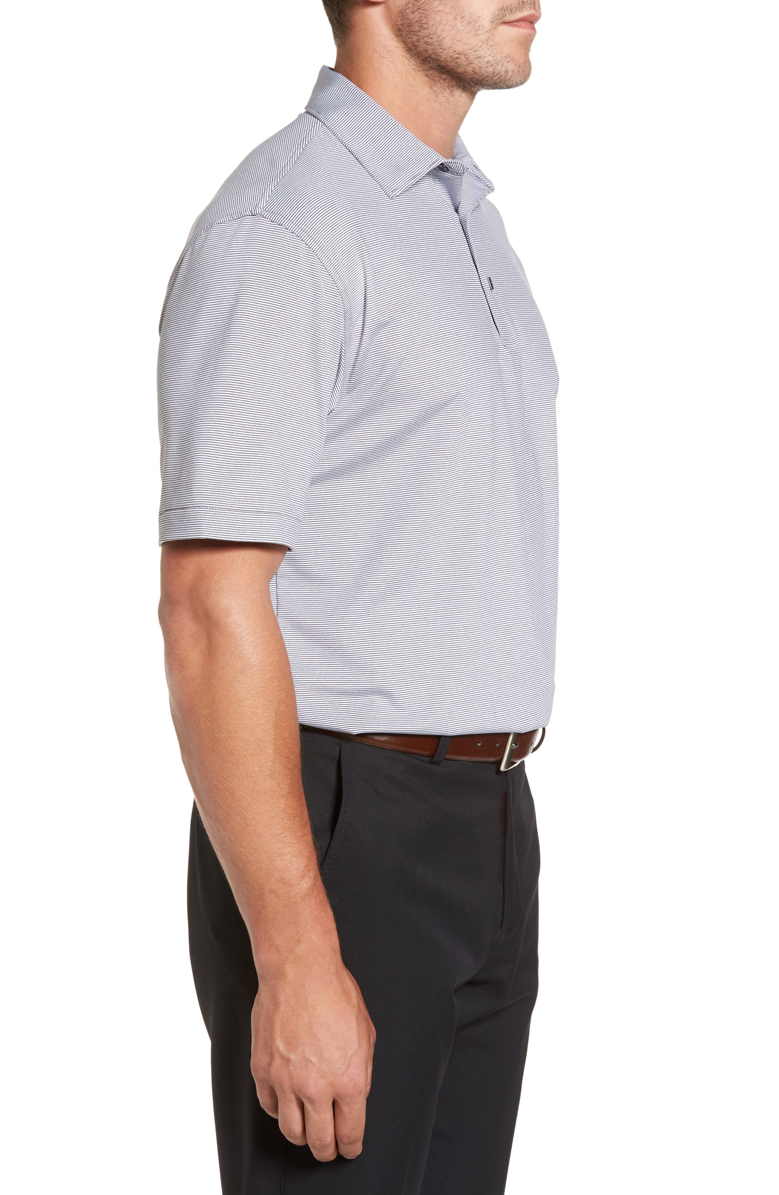 Alternate Image 3  - Peter Millar Sean Jubilee Stripe Jersey Polo