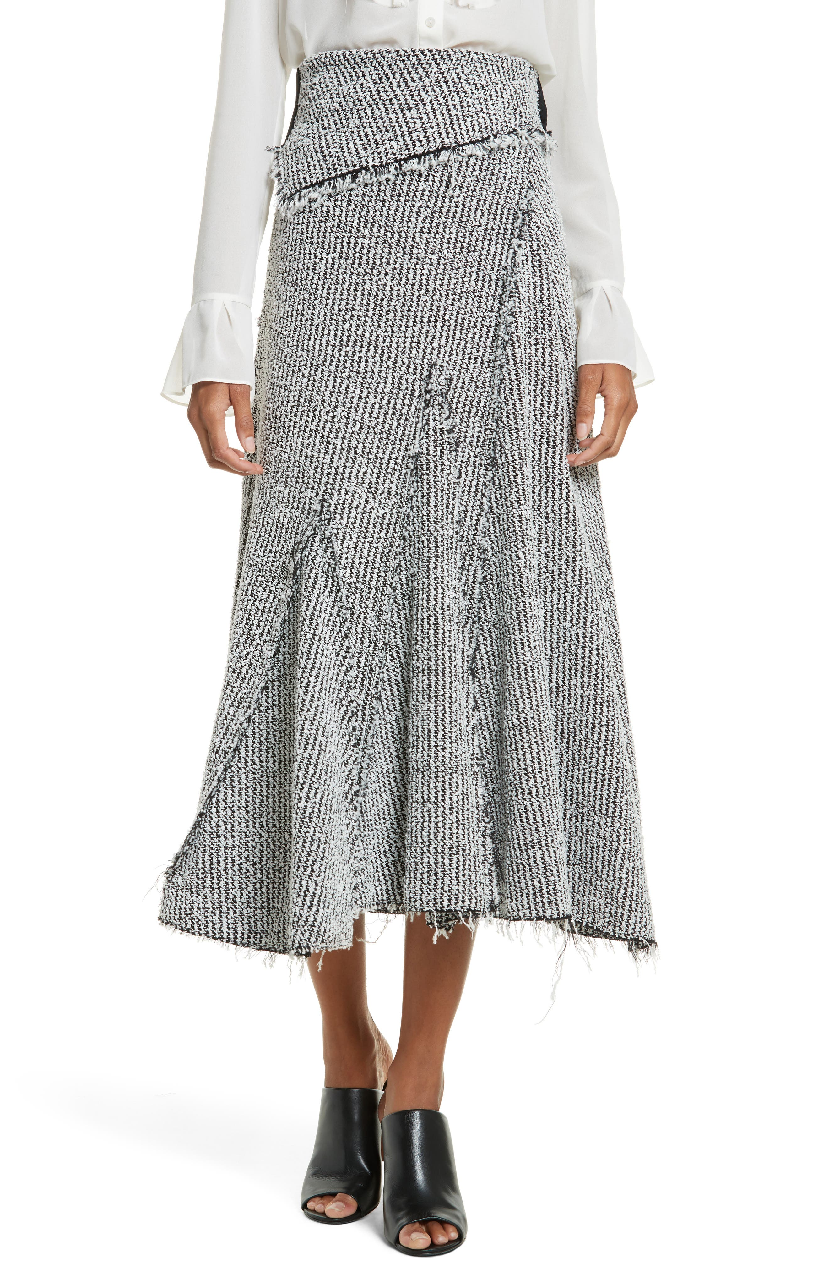 3.1 Phillip Lim Draped Midi Skirt