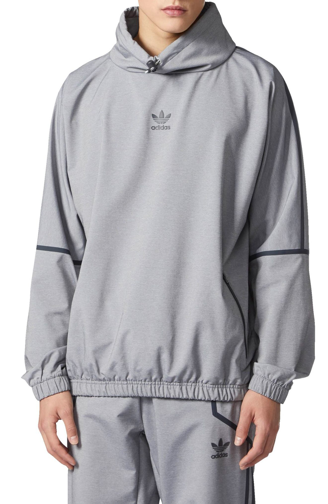 adidas Taped Mock Neck Windbreaker