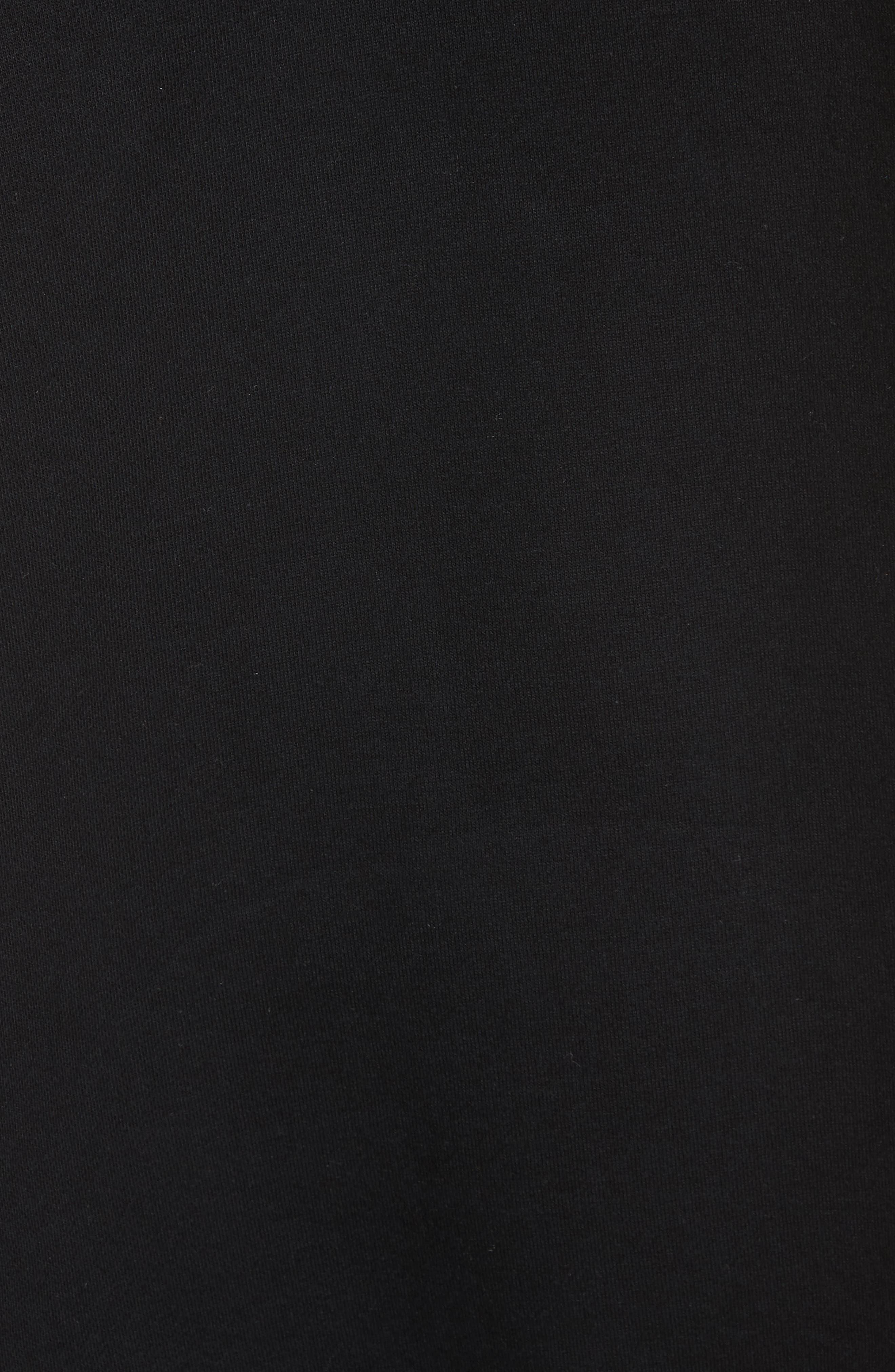 Hooded Coat,                             Alternate thumbnail 5, color,                             Black