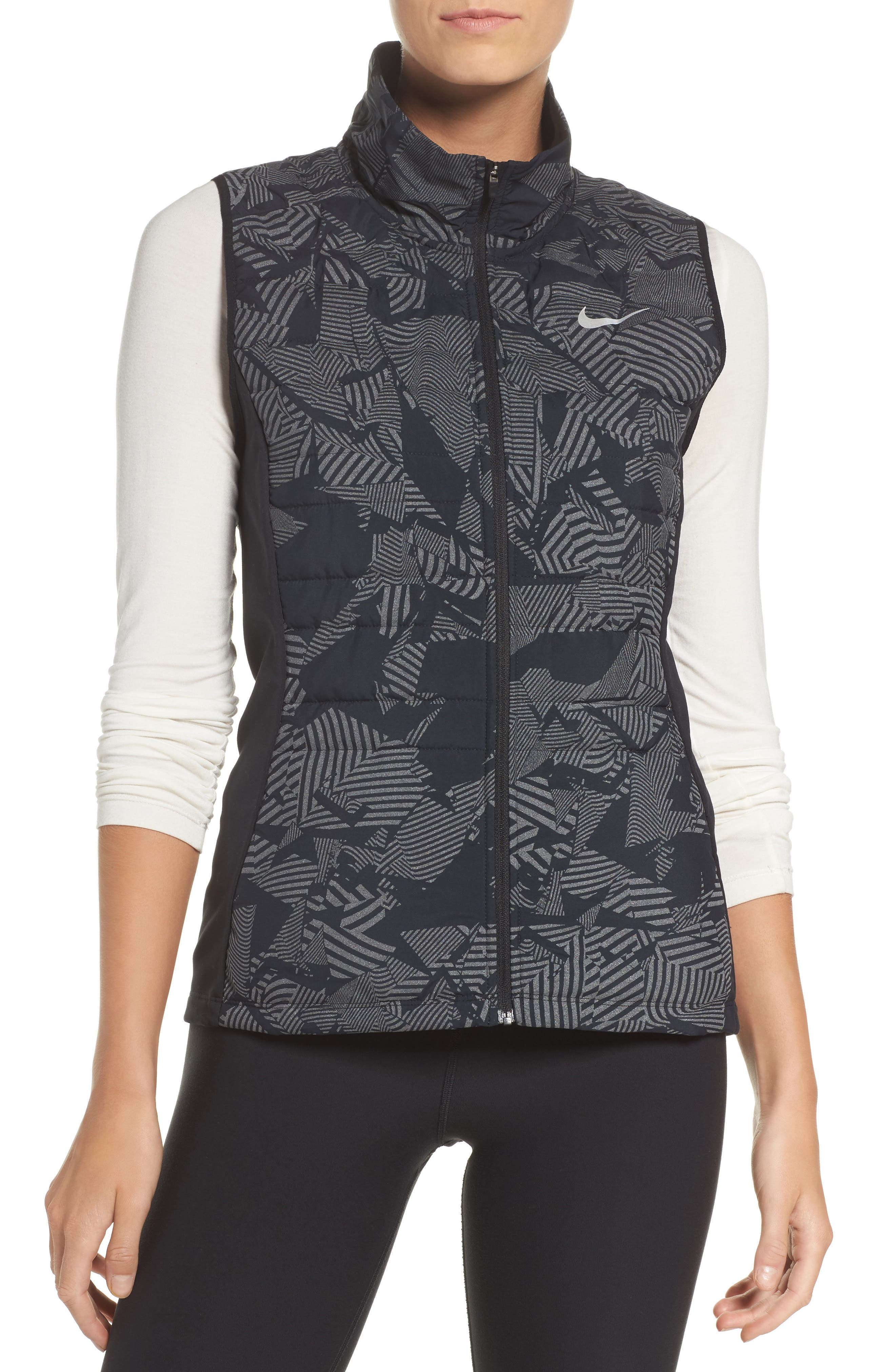 Alternate Image 1 Selected - Nike Essential Flash Running Vest