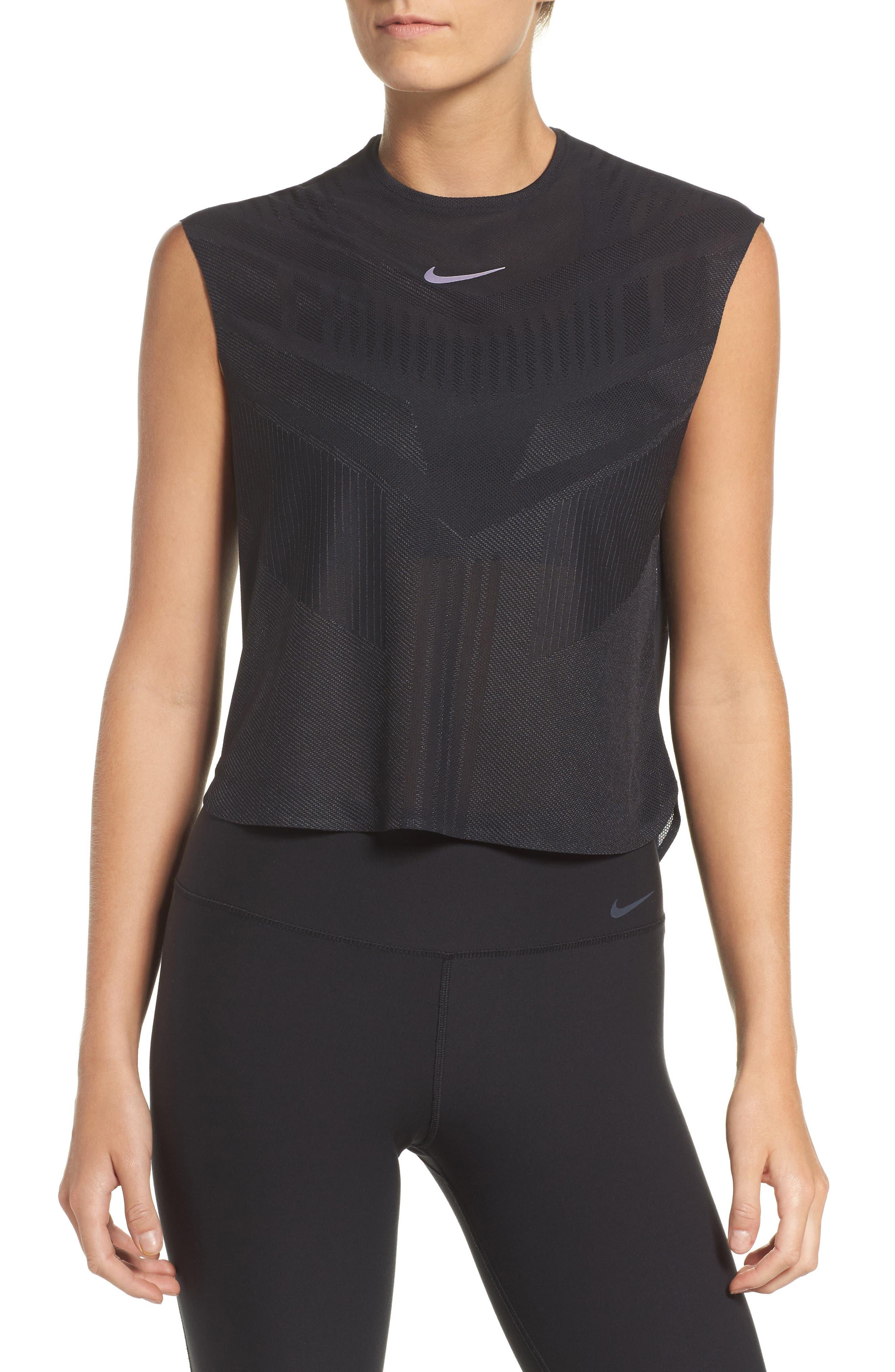 Alternate Image 1 Selected - Nike Court Dry Slam Tennis Tank