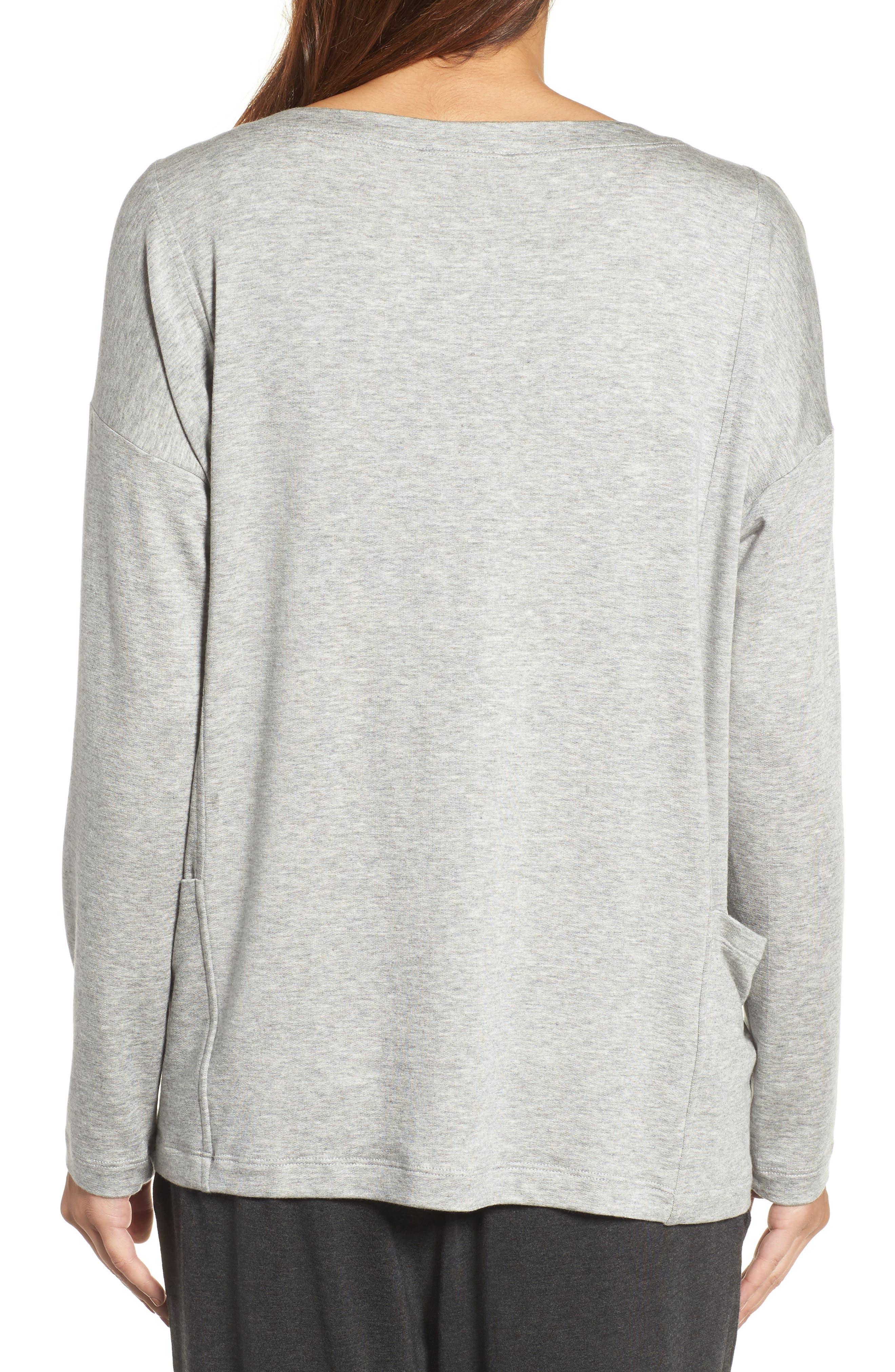 Alternate Image 2  - Eileen Fisher Bateau Neck Sweater