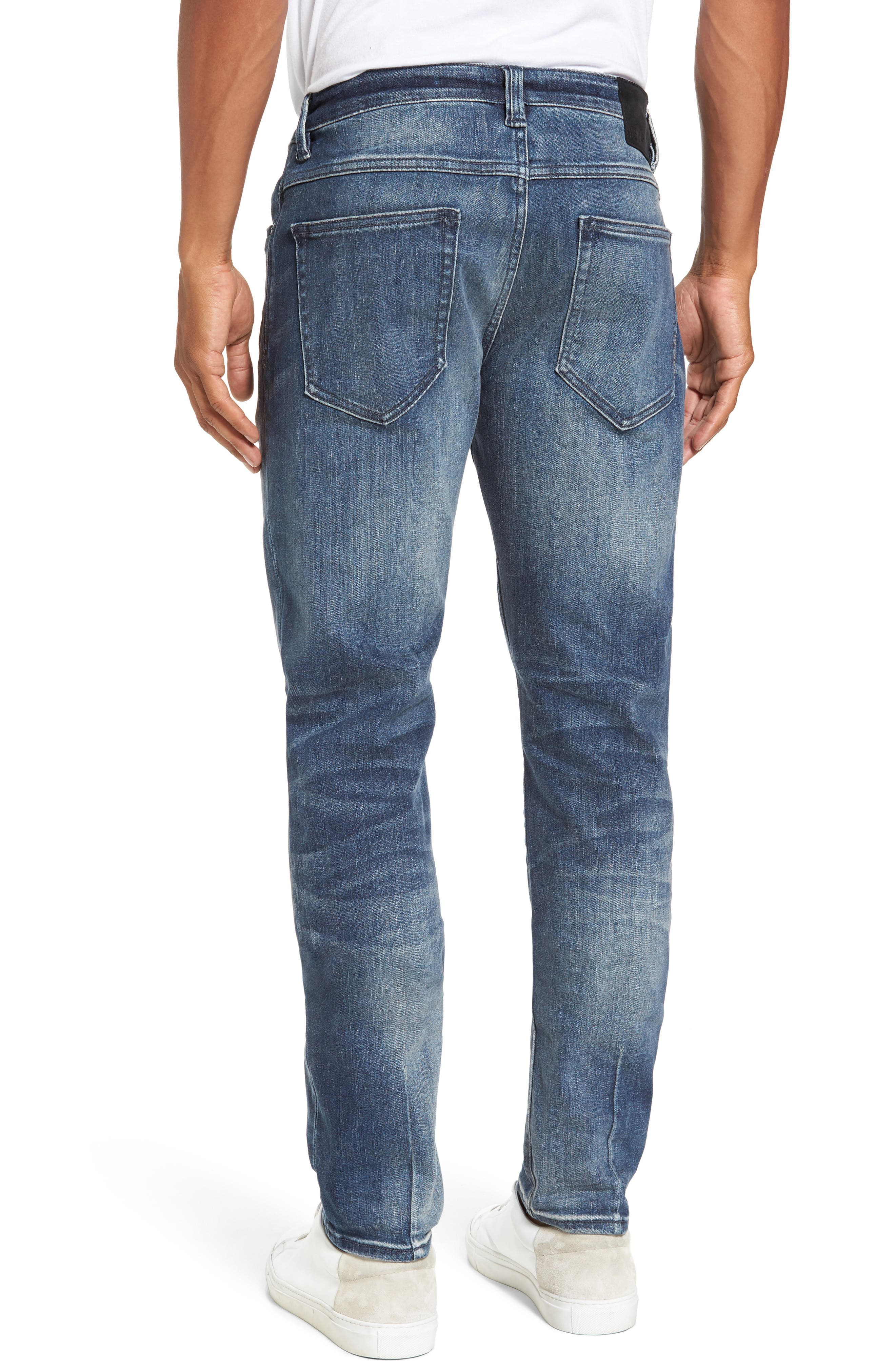 Alternate Image 2  - NEUW Lou Slim Fit Jeans (Biker Wash)