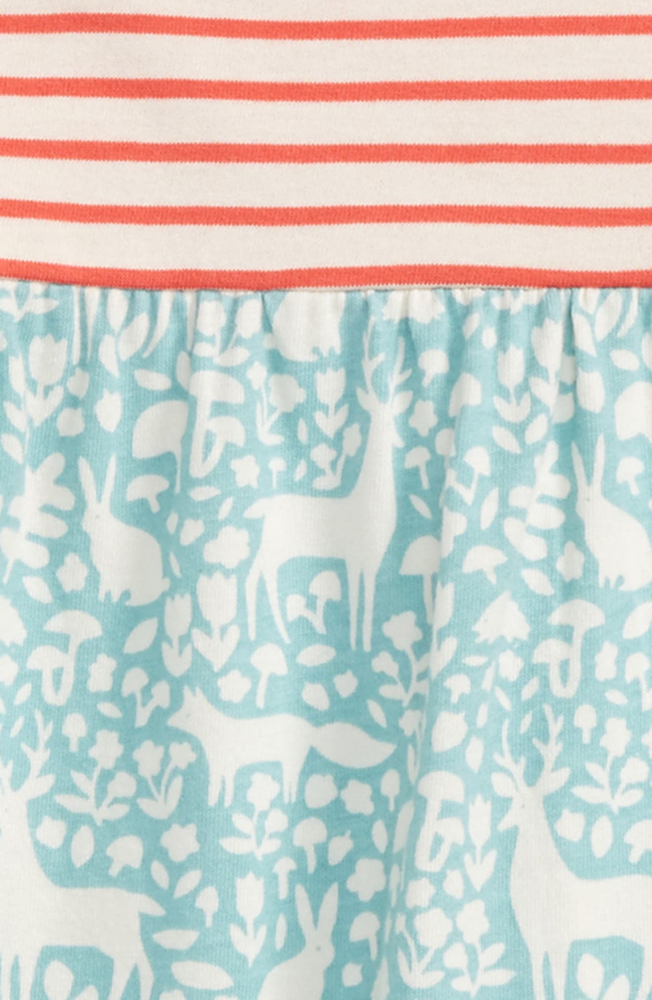 Hotchpotch Jersey Dress,                             Alternate thumbnail 2, color,                             Pool Blue Woodland
