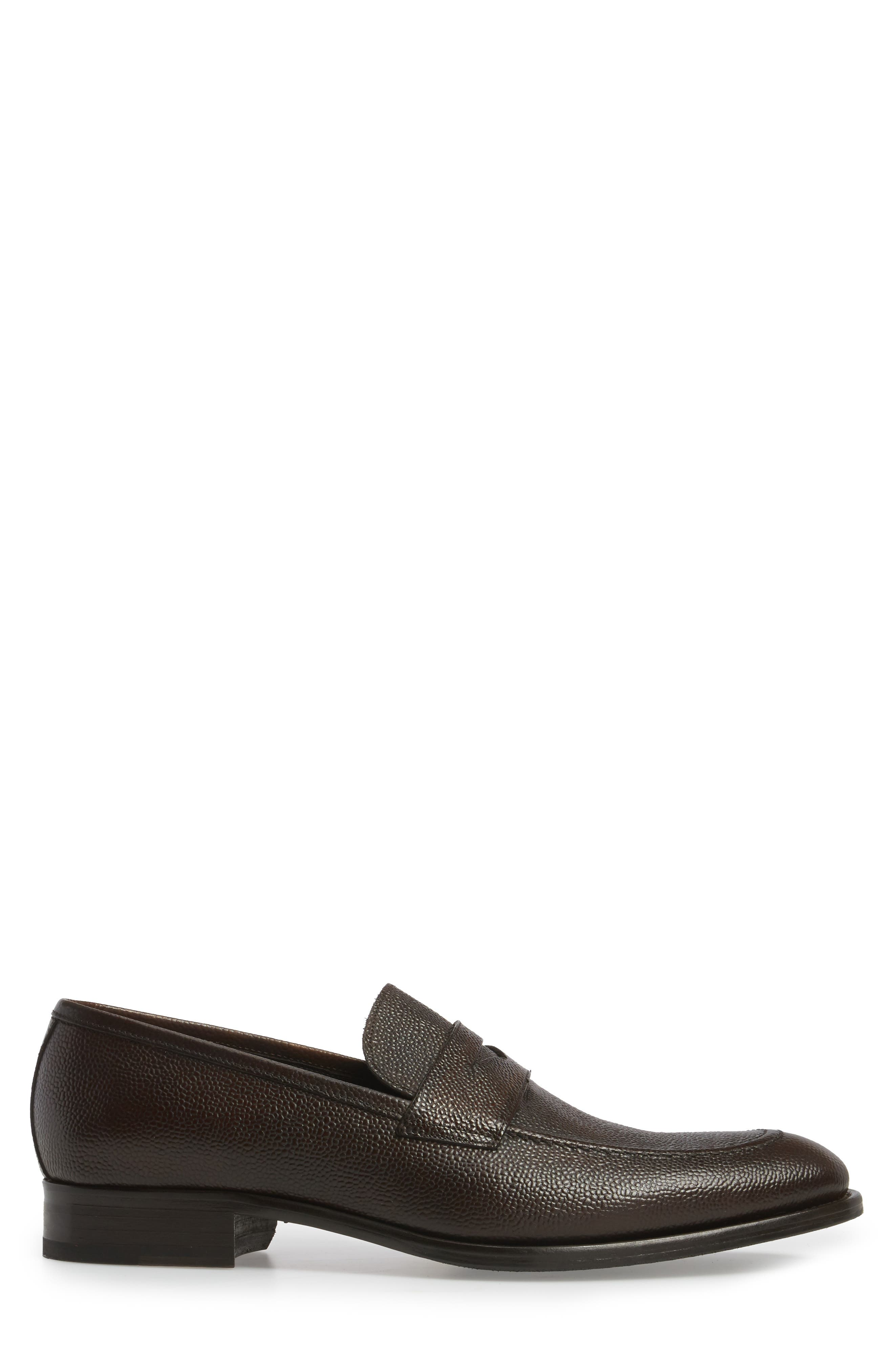 James Penny Loafer,                             Alternate thumbnail 3, color,                             Brown Leather