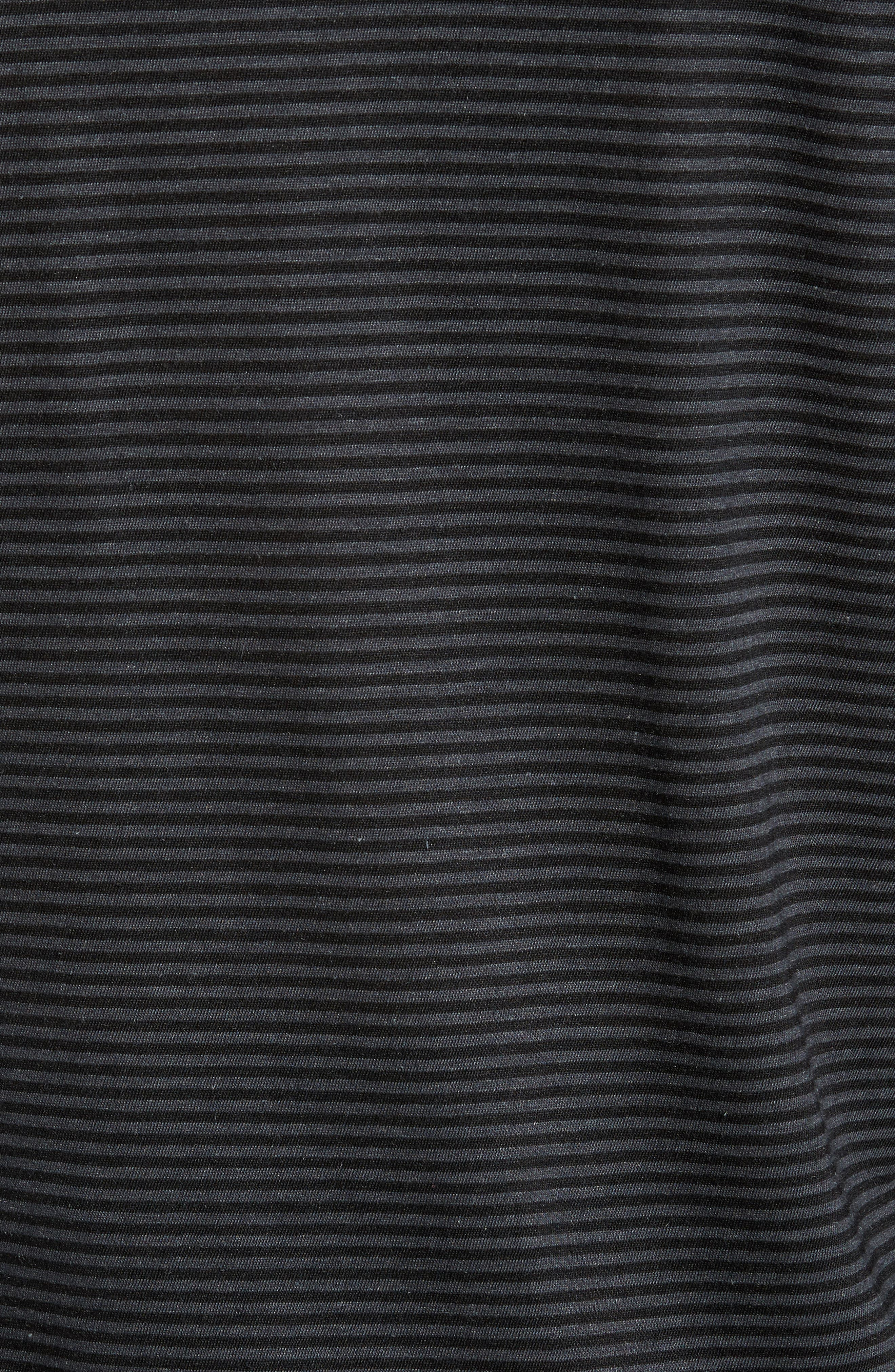 Alternate Image 5  - John Varvatos Star USA Stripe Long Sleeve T-Shirt