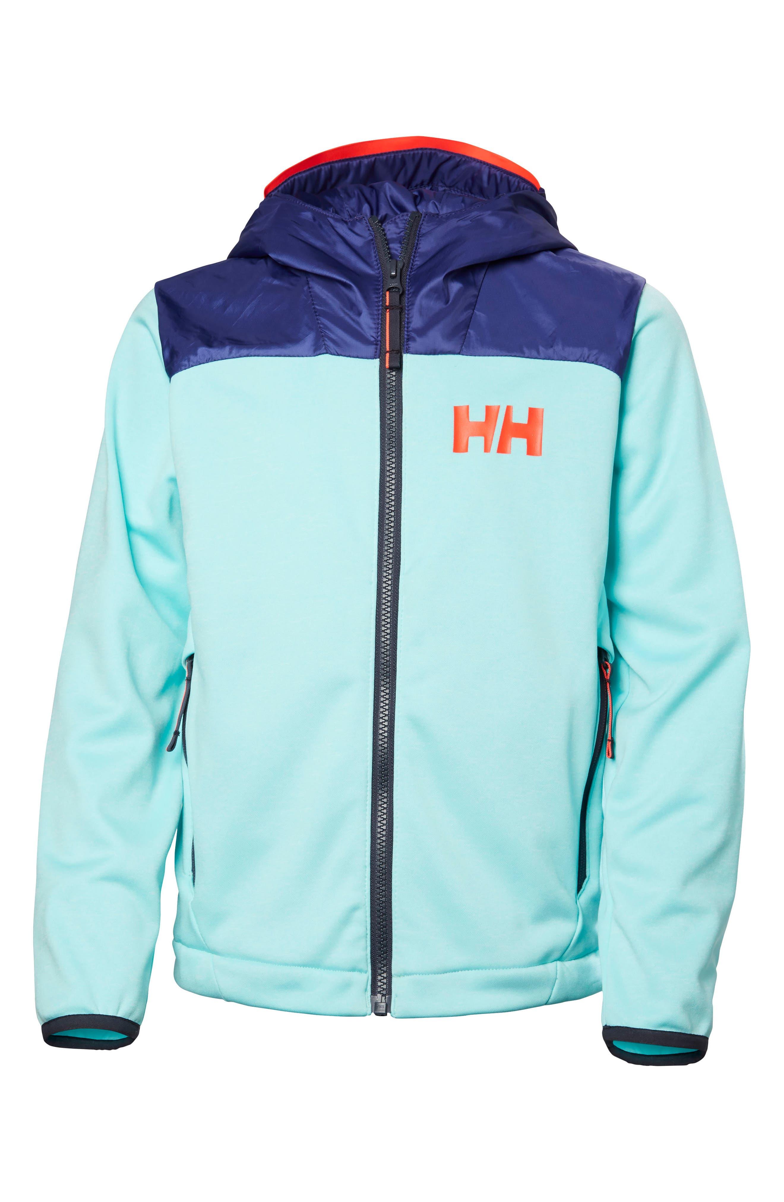 Hybrid Midlayer Jacket,                         Main,                         color, Glacier