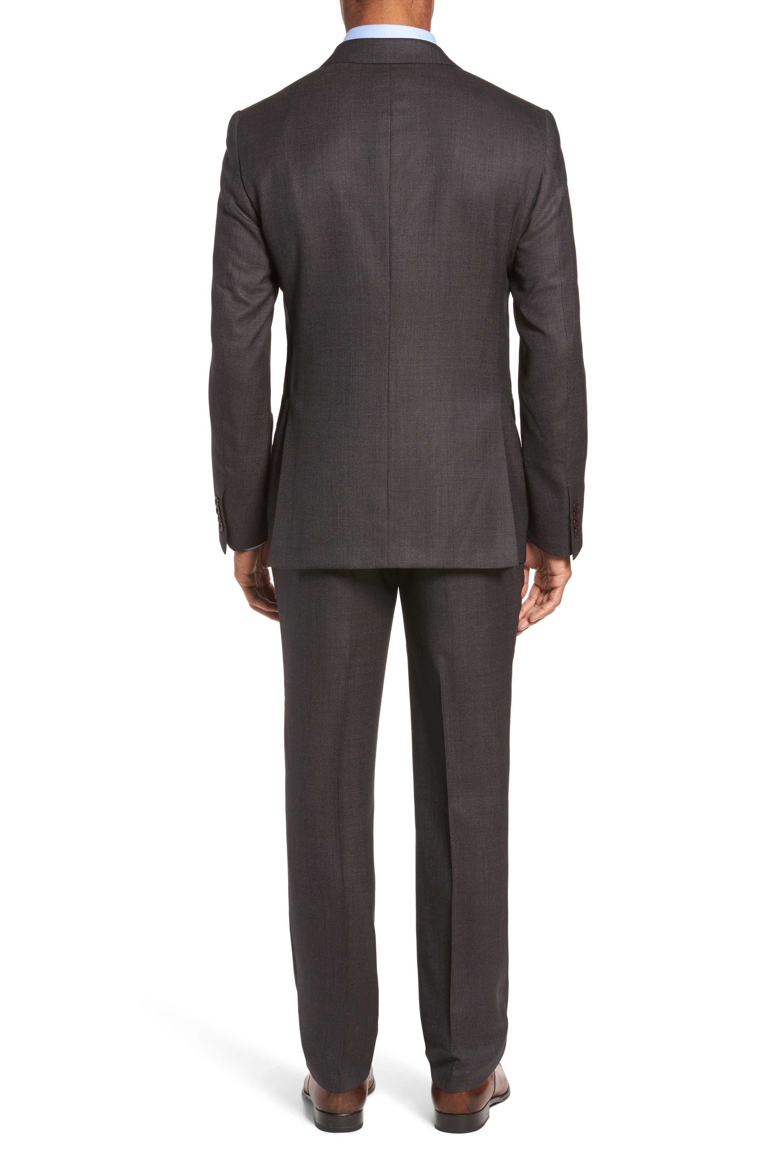 Alternate Image 2  - Pal Zileri Classic Fit Micro Weave Wool Suit
