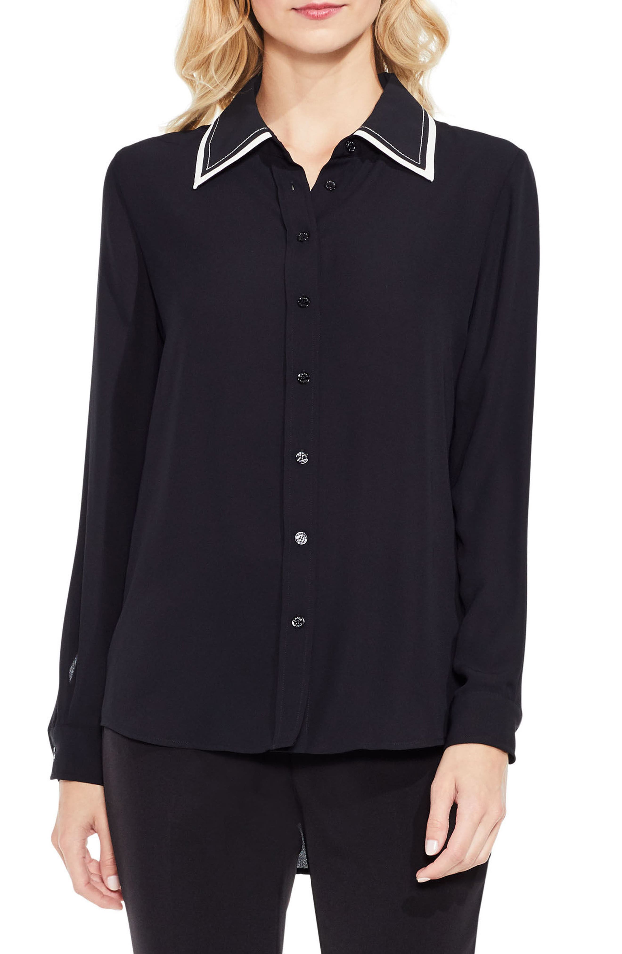 Main Image - Vince Camuto Long Sleeve Button Down Blouse