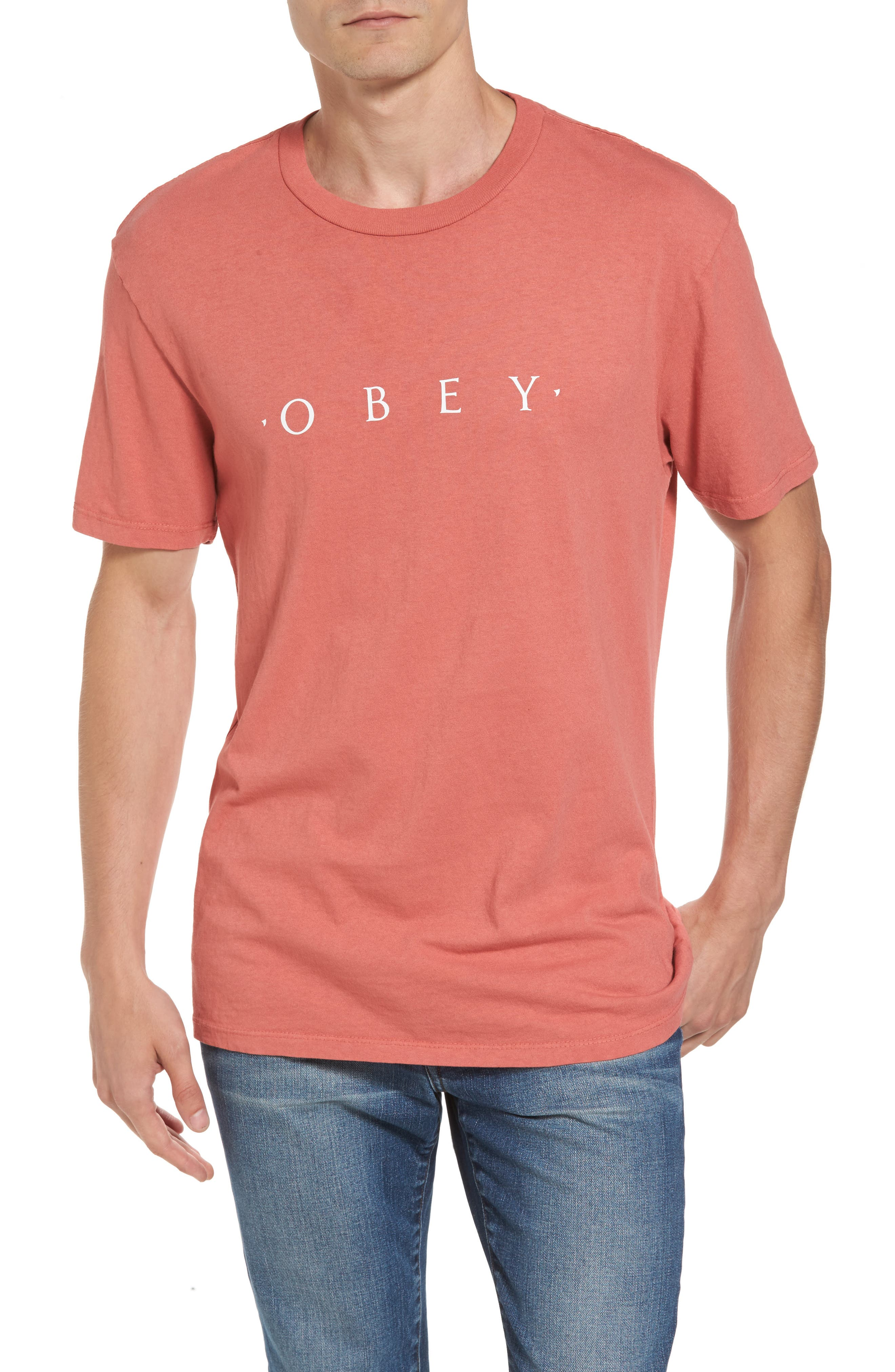 Obey Logo Graphic T-Shirt