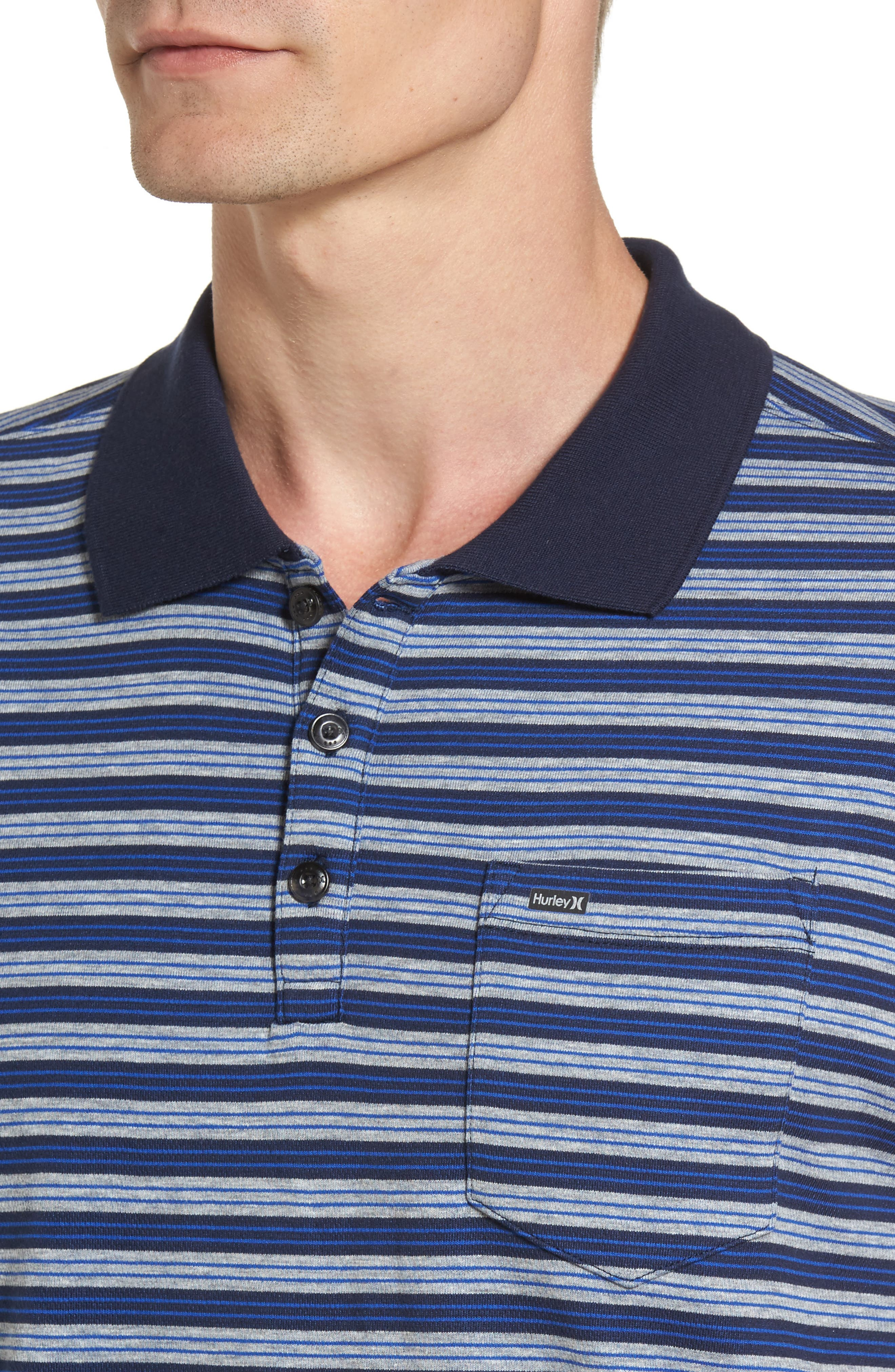 Alternate Image 4  - Hurley Tower 5 Dri-FIT Polo