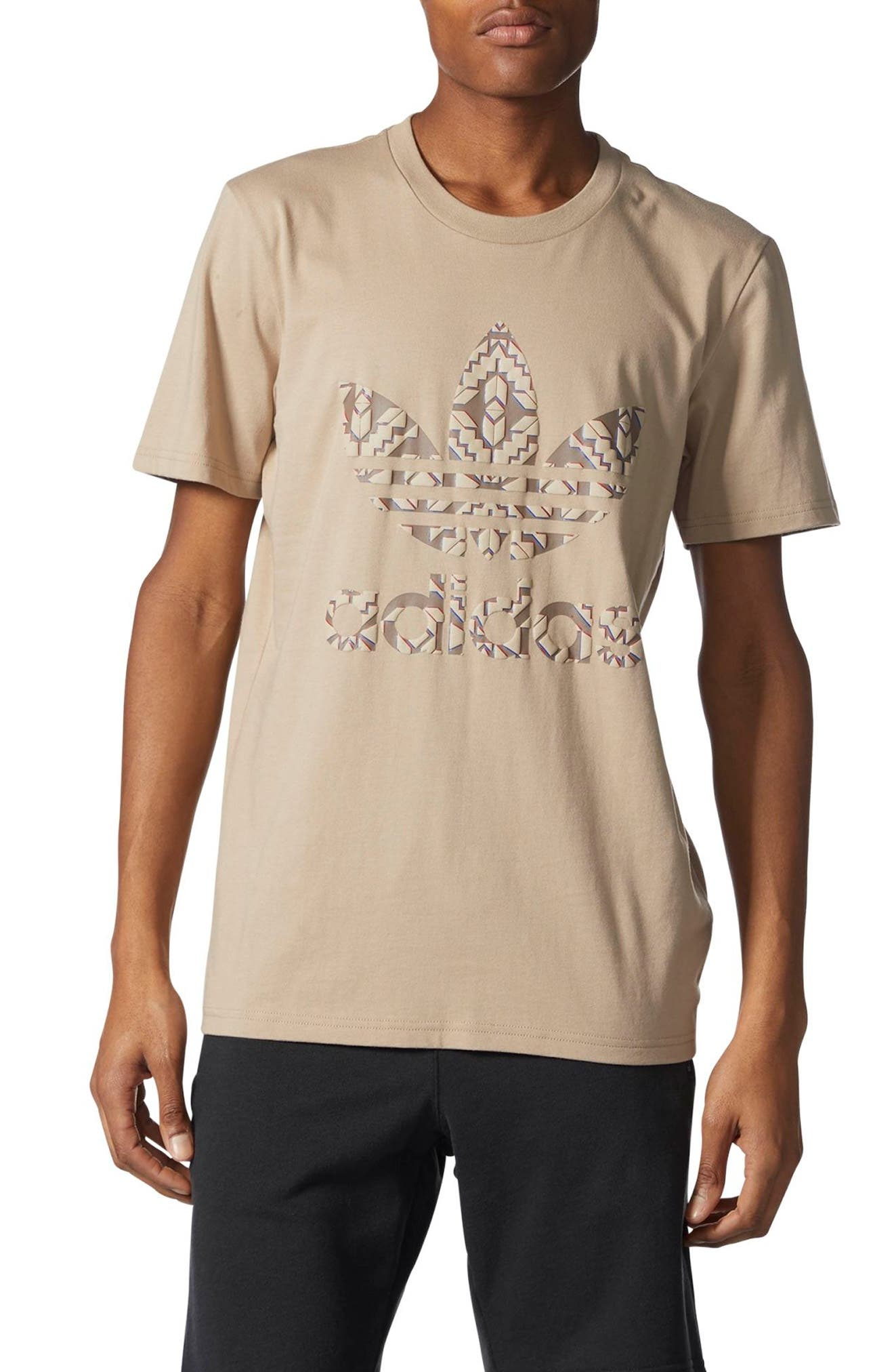 adidas Originals Chicago Stacked 3D Logo T-Shirt