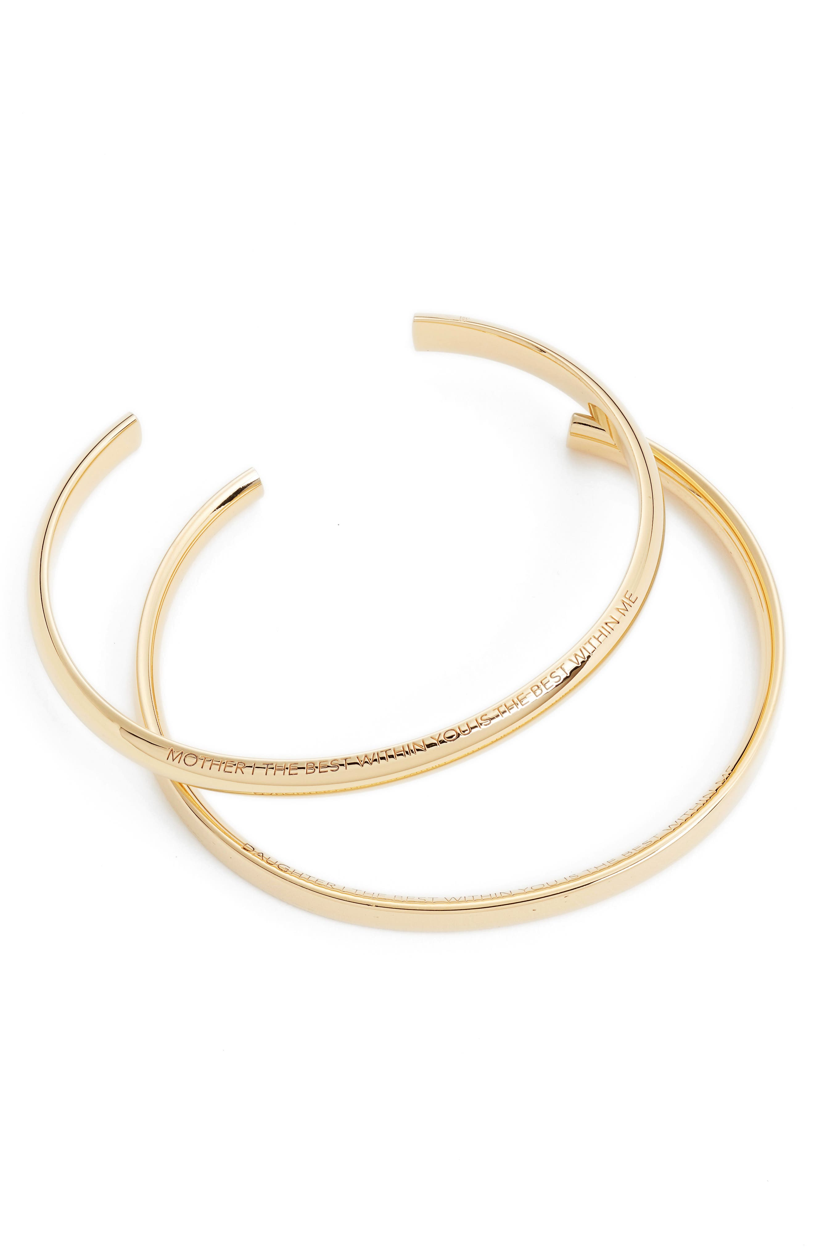 Main Image - Stella Valle Mother & Daughter Set of 2 Cuffs