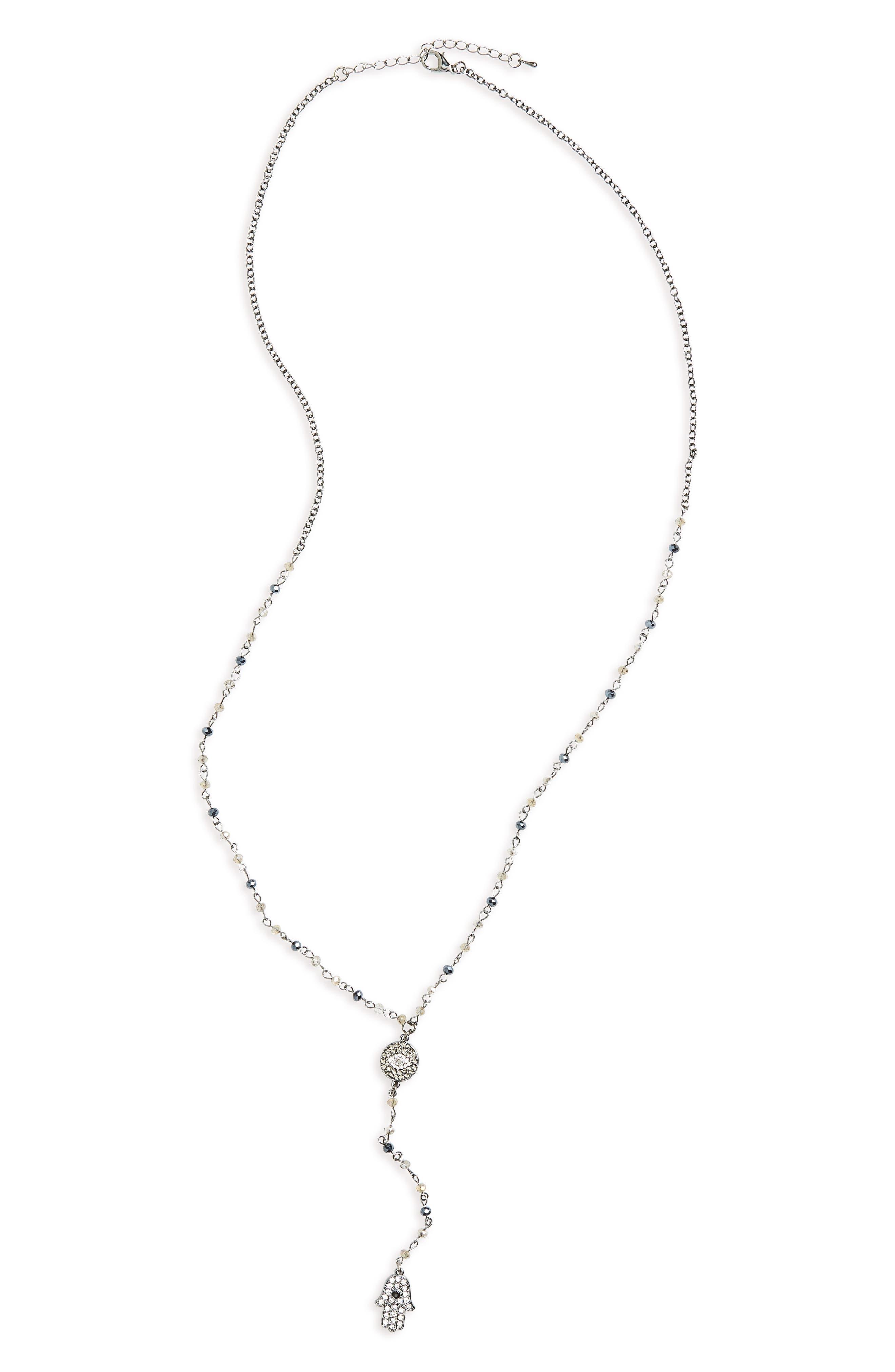 Main Image - Cara Long Y-Necklace
